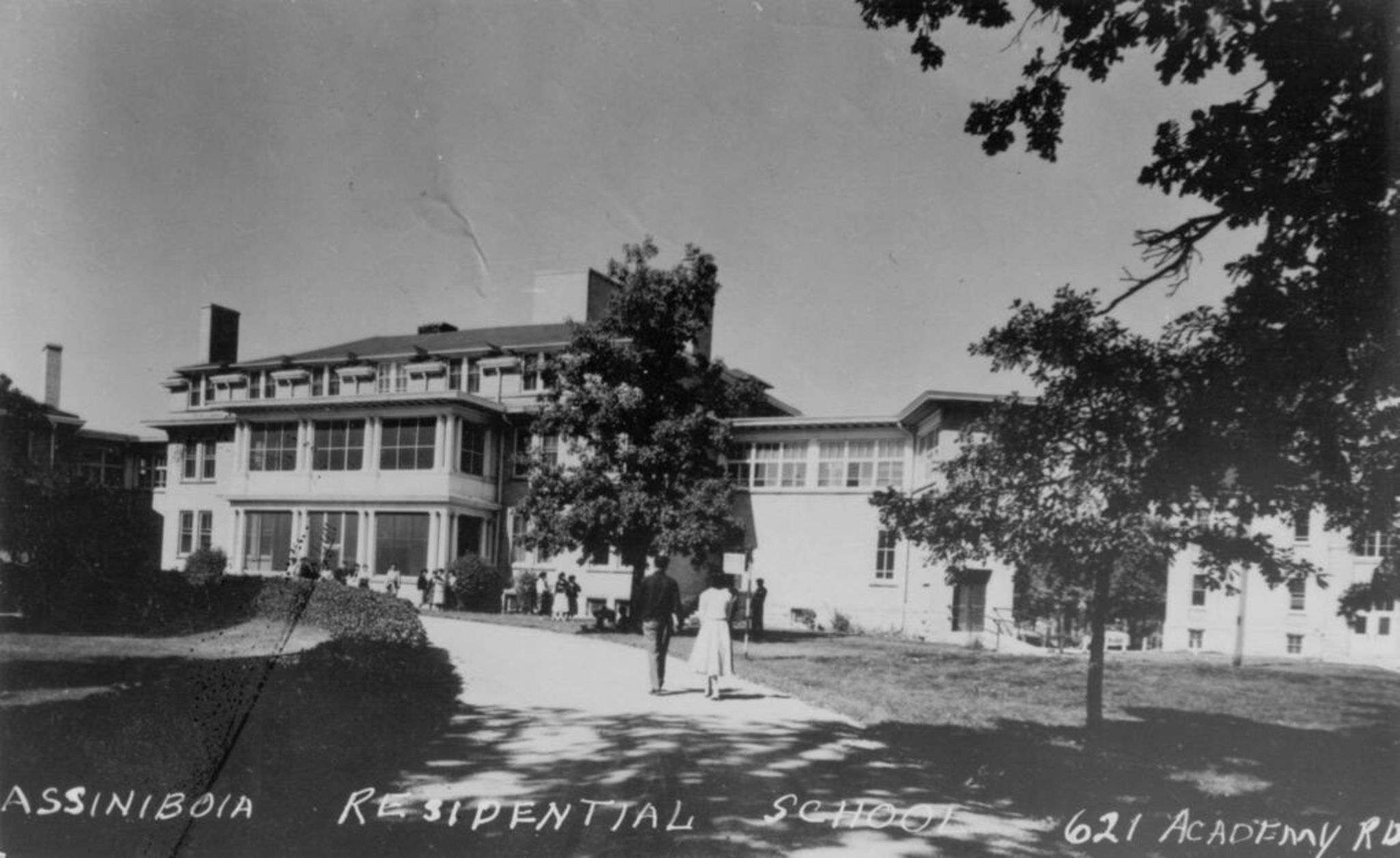 The Assiniboia Indian Residential School operated at 615 Academy Rd. from 1958 to 1973. (Société historique de Saint-Boniface)</p></p>