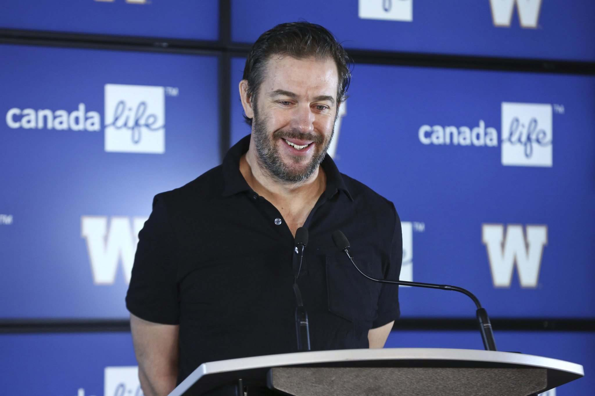 Walters was able to bring back a majority of starters from the Grey Cup winning team. (Mike Deal / Winnipeg Free Press files)</p>