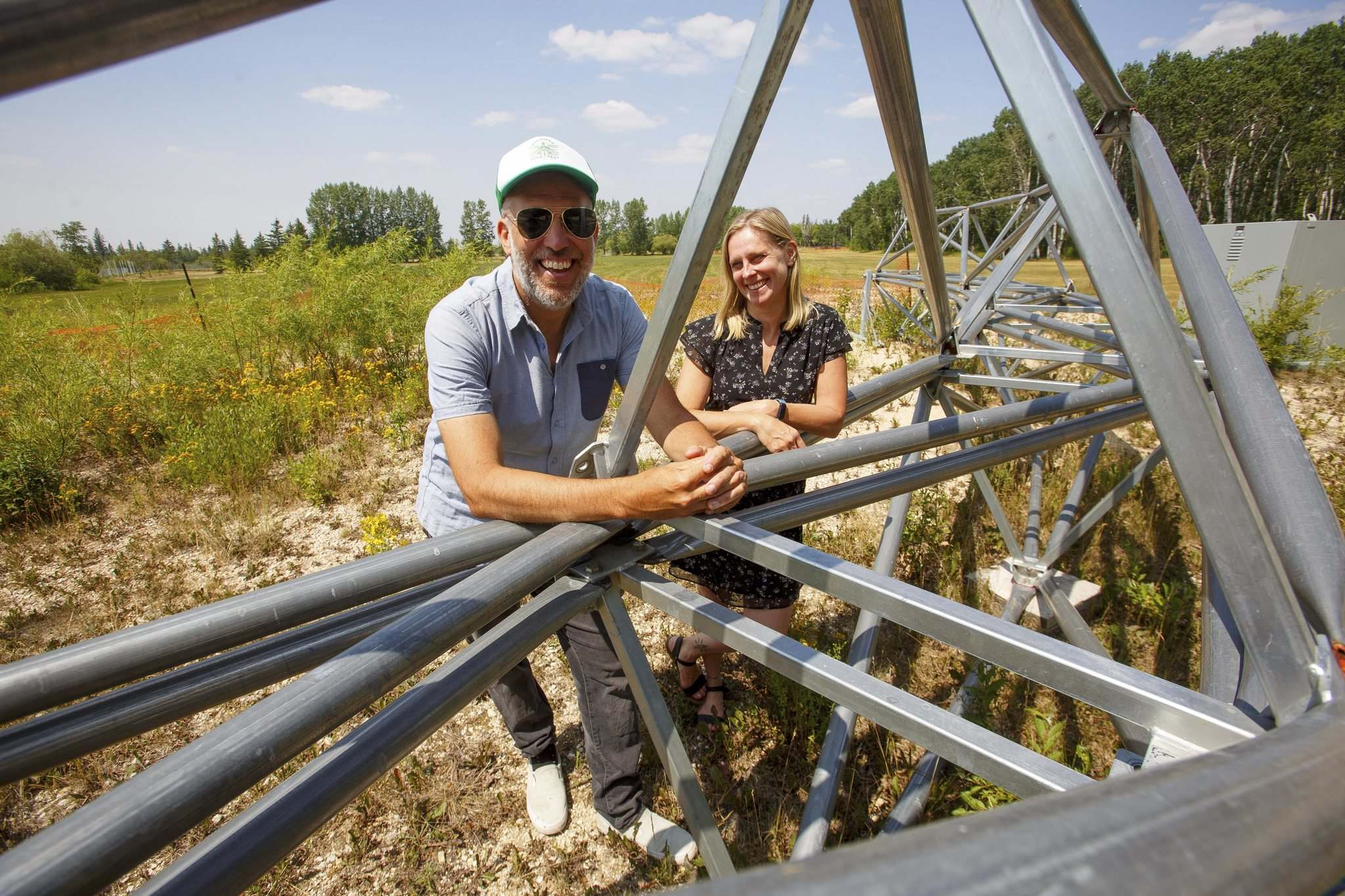With vaccine uptake rising,Frayer and Skromeda are optimistic that by July 2022, Birds Hill will be rocking once more. (Mike Deal / Winnipeg Free Press)