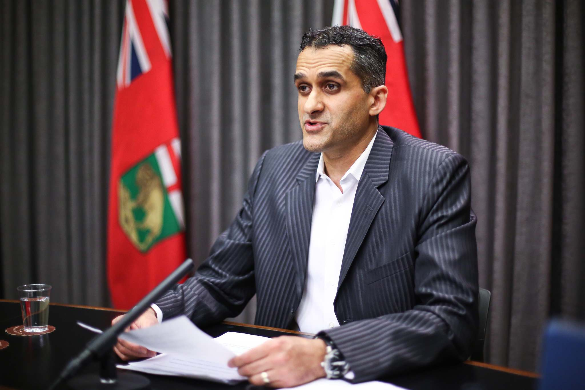 The province's acute care system was overwhelmed proportionally compared to the rest of the country, said Dr. Jazz Atwal, deputy chief provincial public health officer. (Mike Deal / Winnipeg Free Press files)