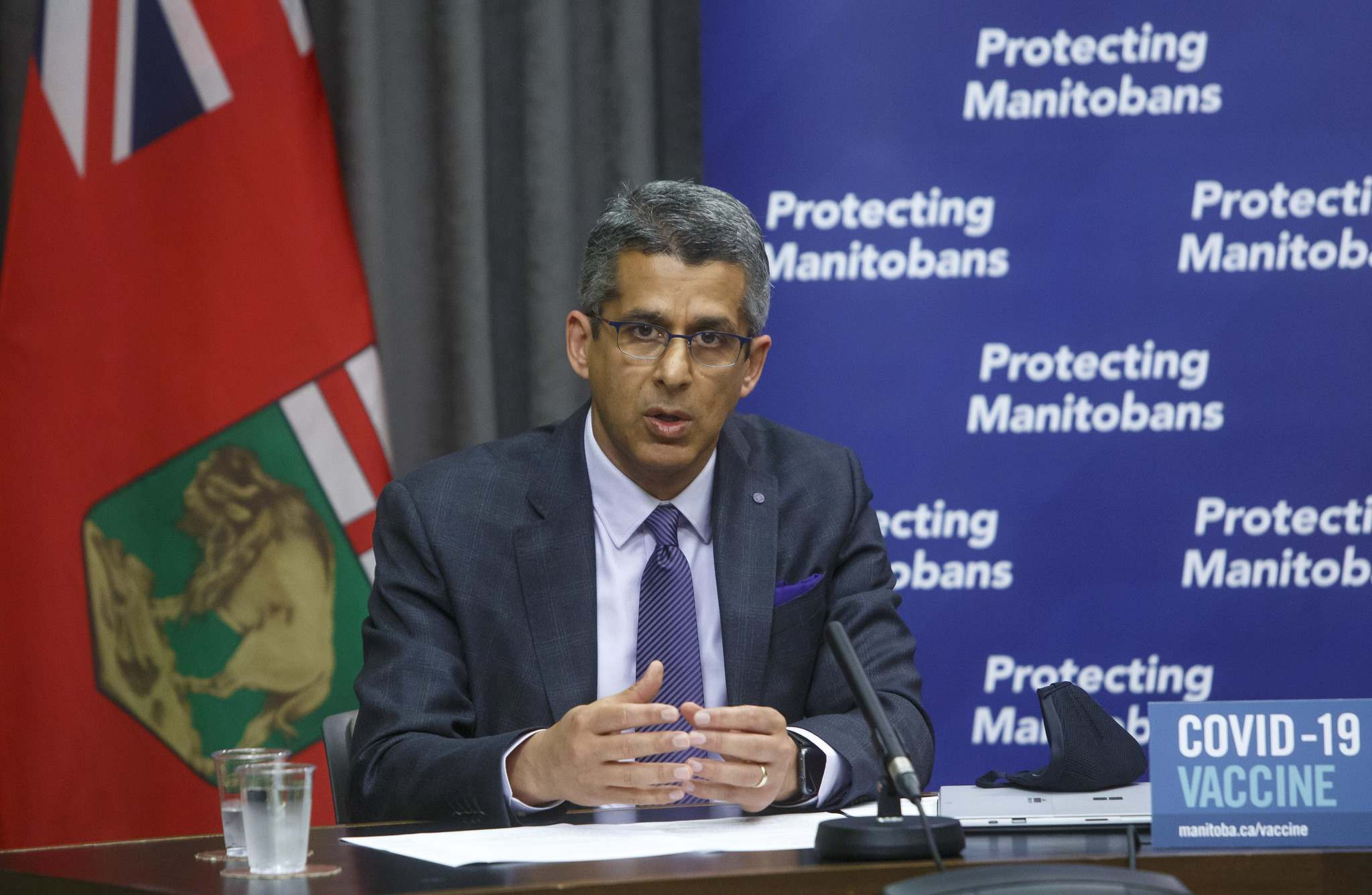 Manitoba Liquor and Lotteries chief executive officer Manny Atwal confirmed that the winners of the Vax to Win Lottery will have their names reported publicly as part of the conditions of the draw. (Mike Deal / Winnipeg Free Press files)</p>