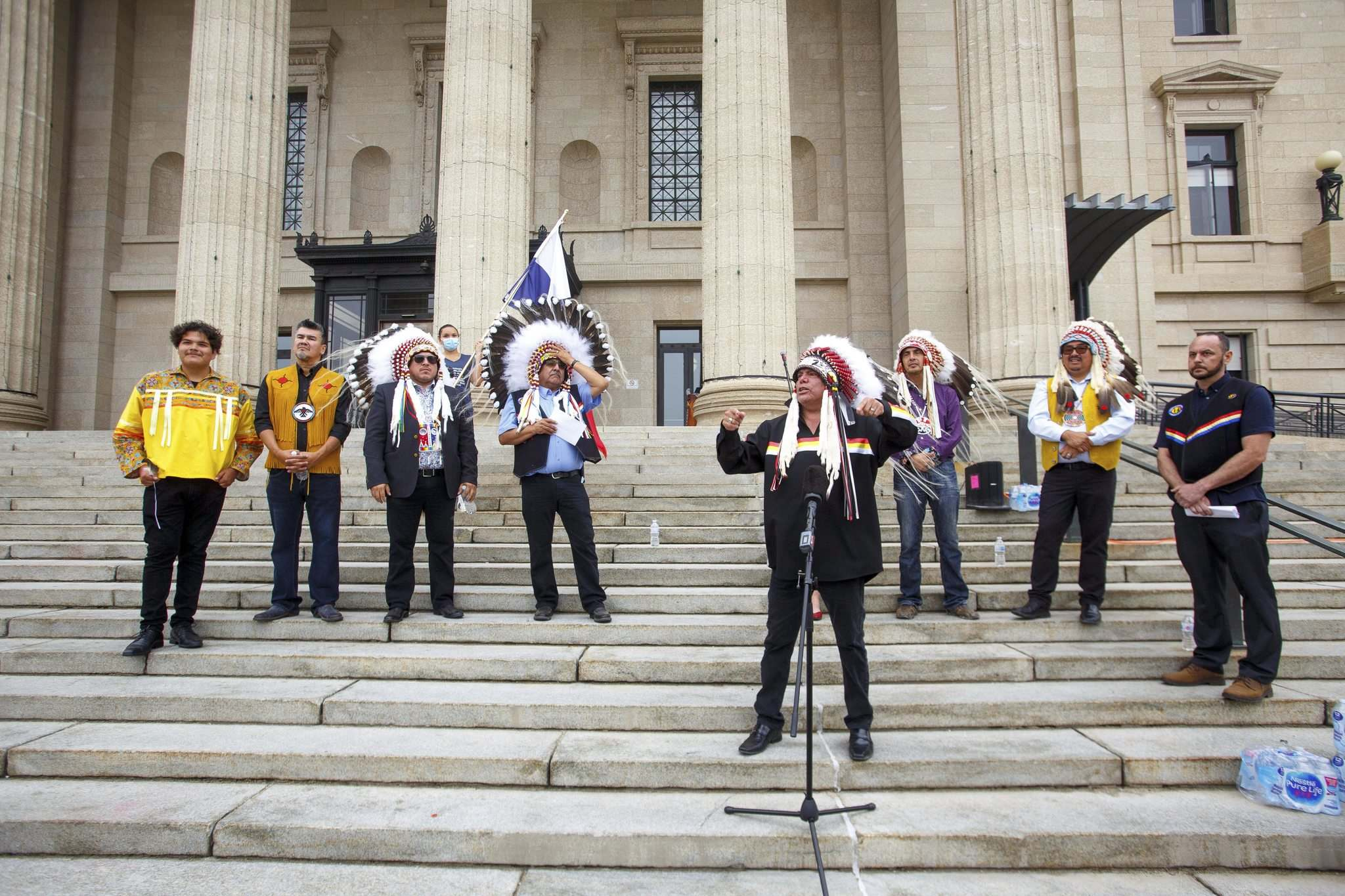 Chiefs and leaders from the Treaty 5 area gathered to launch their own anti-racism plan.