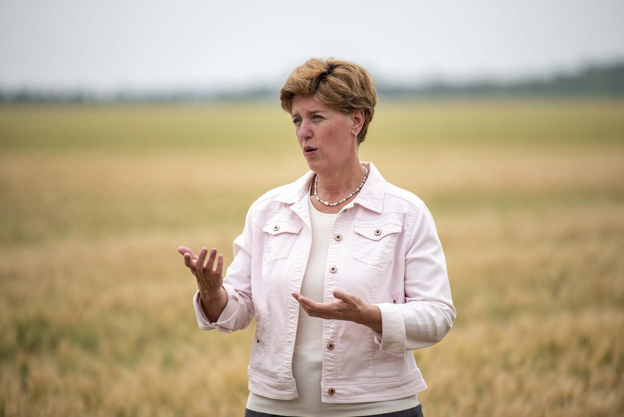 ALEX LUPUL / WINNIPEG FREE PRESS</p><p>Minister Marie-Claude Bibeau, federal Minister of Agriculture and Agri-Food.</p>