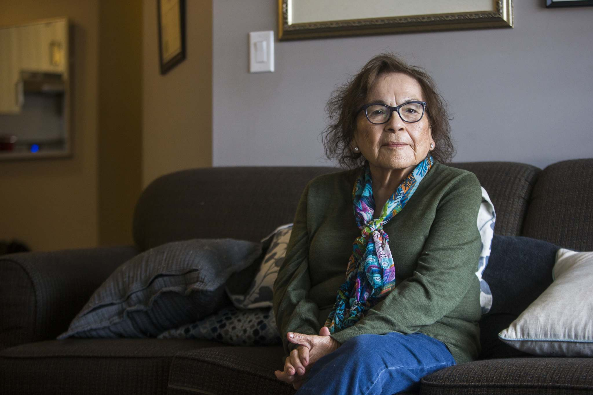 MIKAELA MACKENZIE / WINNIPEG FREE PRESS</p><p>For survivor Mary Courchene, attending the school was particularly painful. She could see her parents' house from a school window but could never go home except for summer break.</p></p>