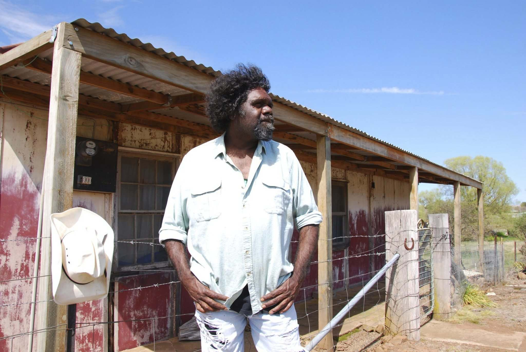 SUPPLIED</p><p>Australian indigenous performer Frank Yamma.</p>