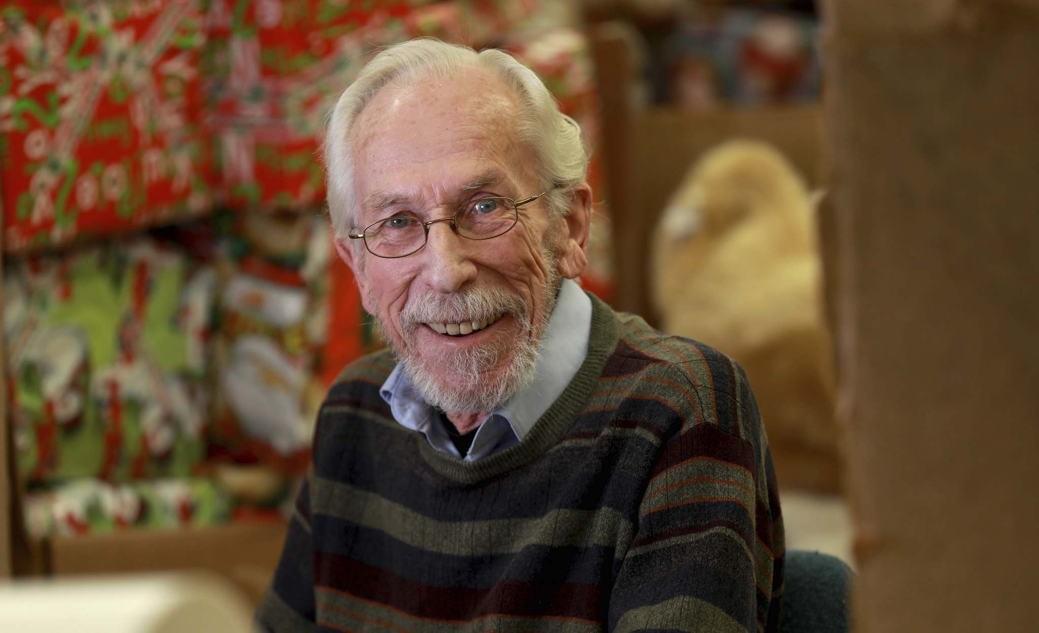 Kai Madsen stepped down this week from the Christmas Cheer Board after 52 years.