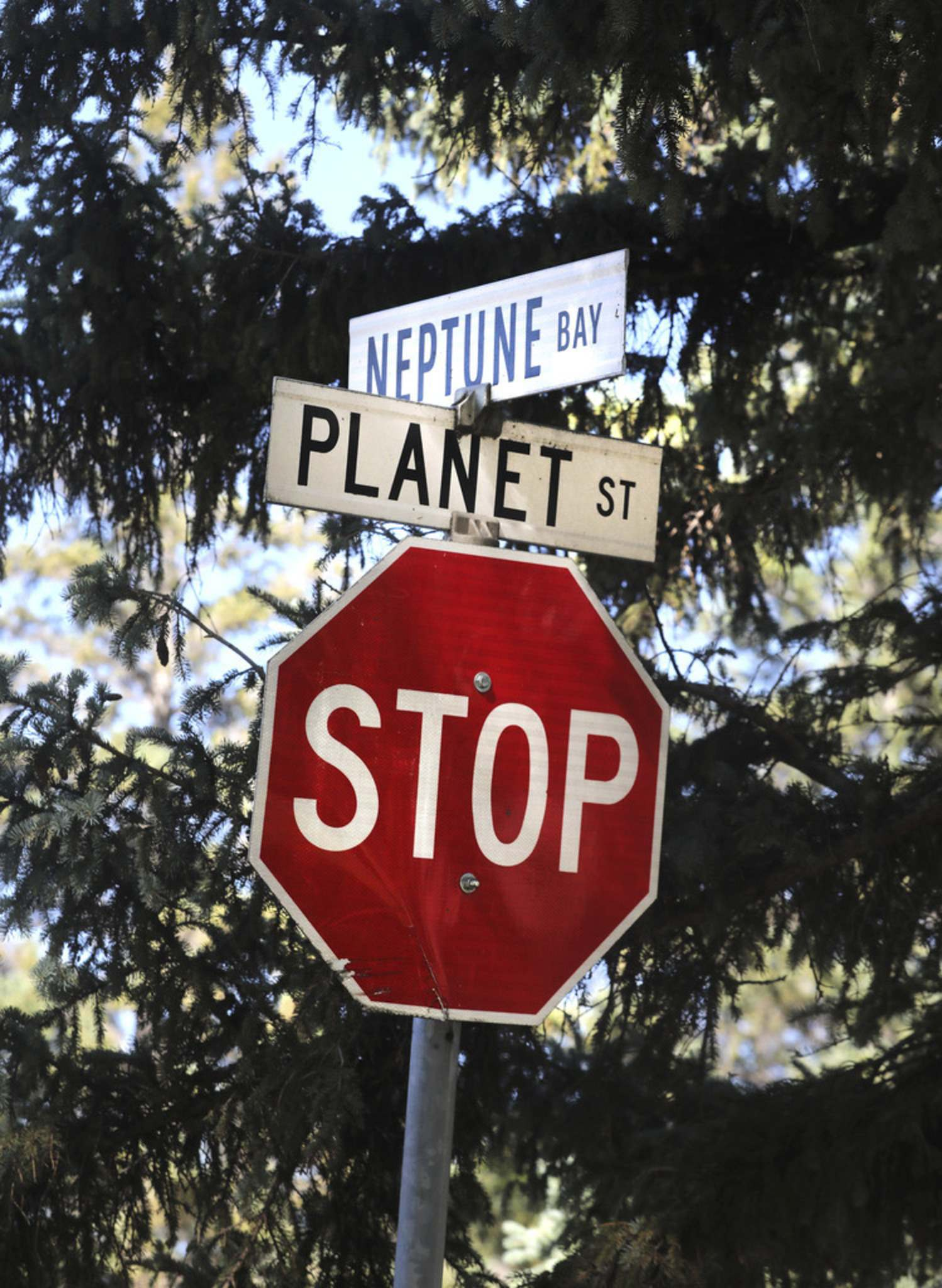 """The Tullochs reside in a neck of the woods unofficially known as """"the Planets""""."""