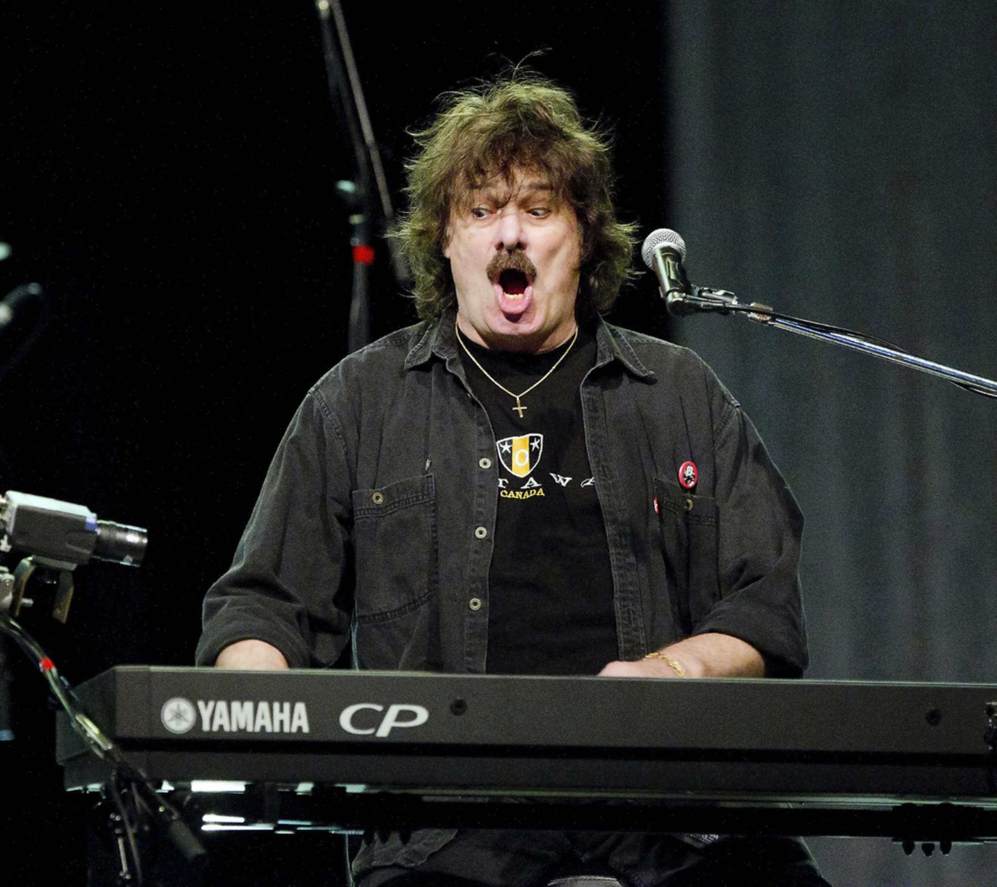 Burton Cummings performs at the Save on Foods Memorial Centre in Victoria, B.C. on June 2, 2011. (Darren Stone / Times Colonist)