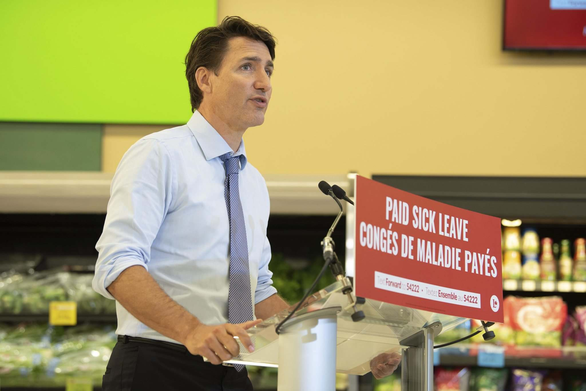 Since the writ dropped on Aug. 15, polls have showed support for Justin Trudeau's Liberal party headed in a mostly downward direction. (Alex Lupul / Winnipeg Free Press files)