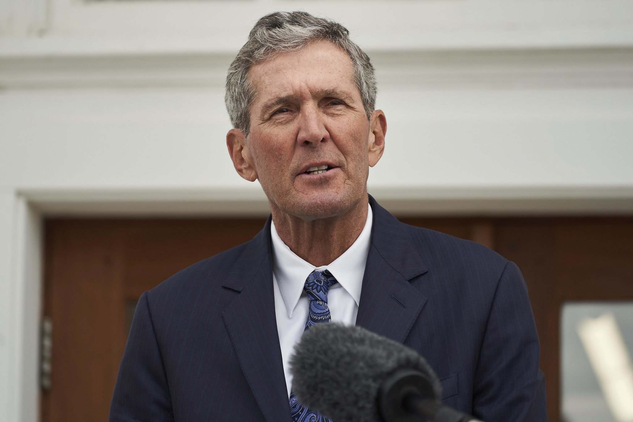 On Aug. 24, then-premier Brian Pallister, Health Minister Audrey Gordon and chief provincial public health officer Dr. Brent Roussin all said mandatory vaccinations were necessary to combat the fourth wave of COVID-19. (David Lipnowski / The Canadian Press files)