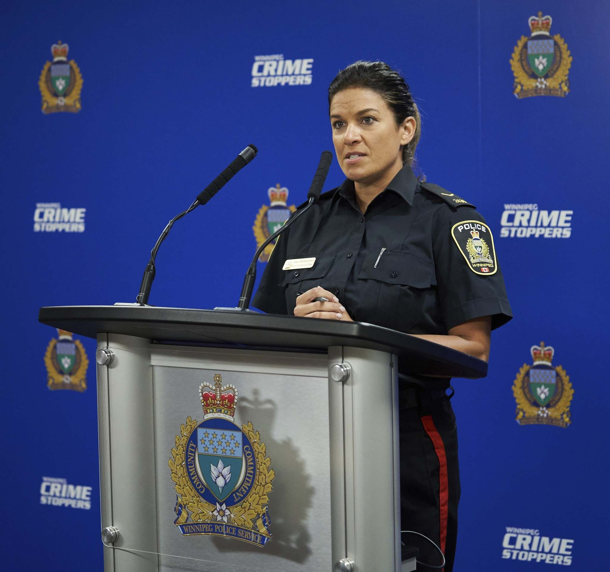The alleged victims were abused on more than one occasion, says Winnipeg police Const. Dani McKinnon. (David Lipnowski / The Canadian Press)</p>