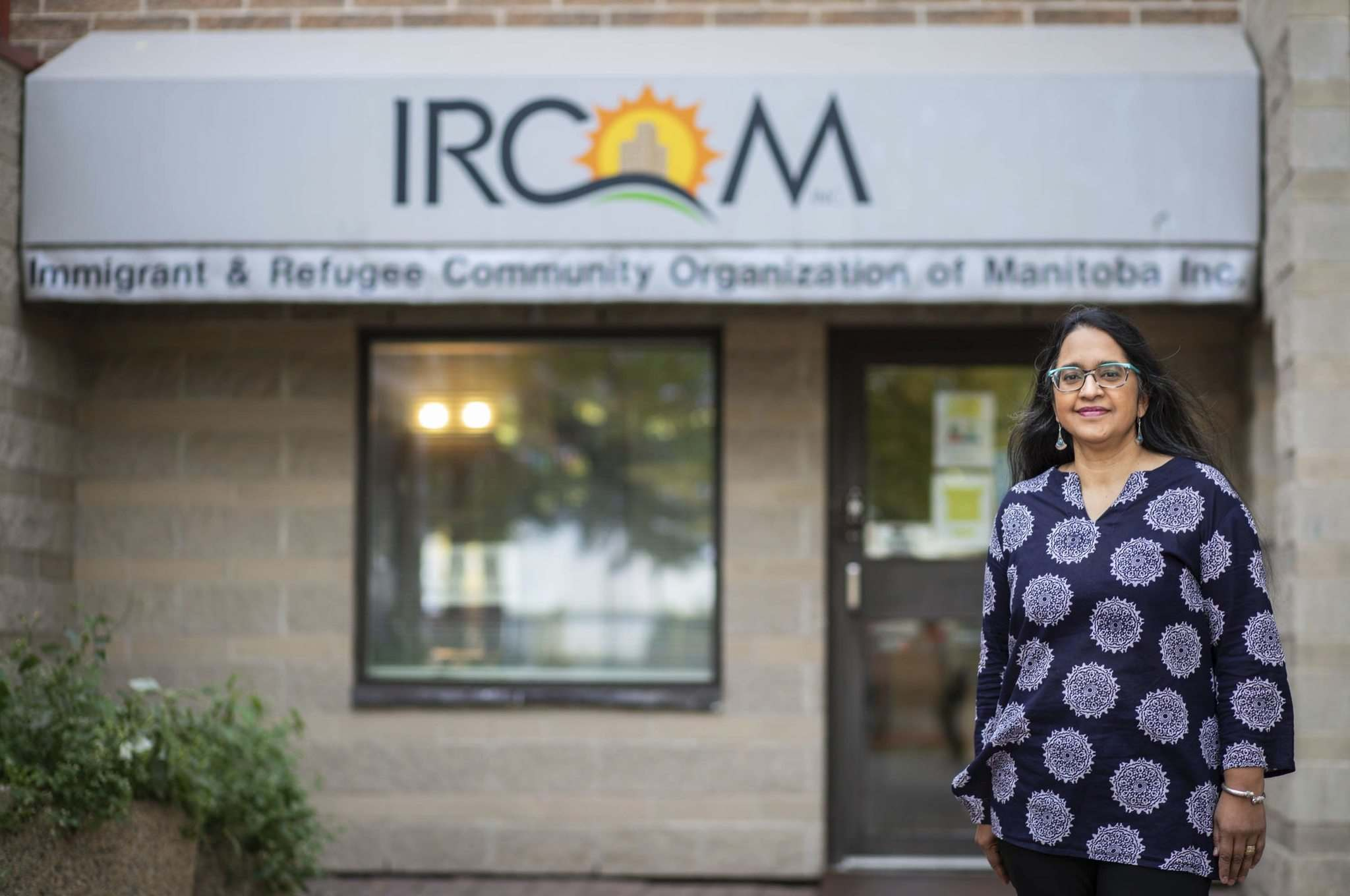 Shereen Denetto is returning to the Immigrant and Refugee Community Organization of Manitoba as its new executive director. IRCOM is marking its 30th anniversary this year. (Jessica Lee / Winnipeg Free Press)</p>