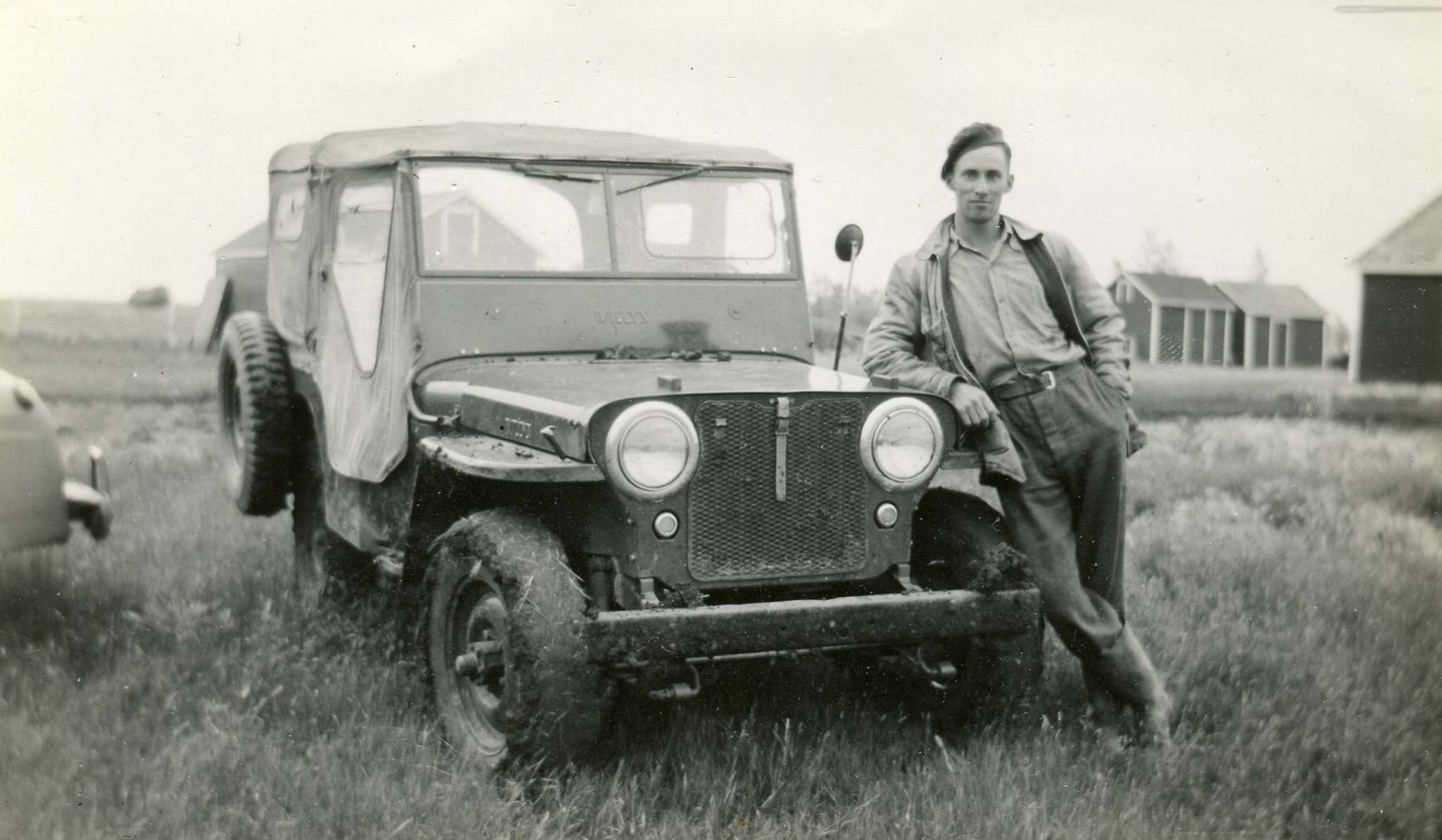 The Jeep Leonard Rance drove in 1948 still runs and remains in the family. (Supplied)</p>