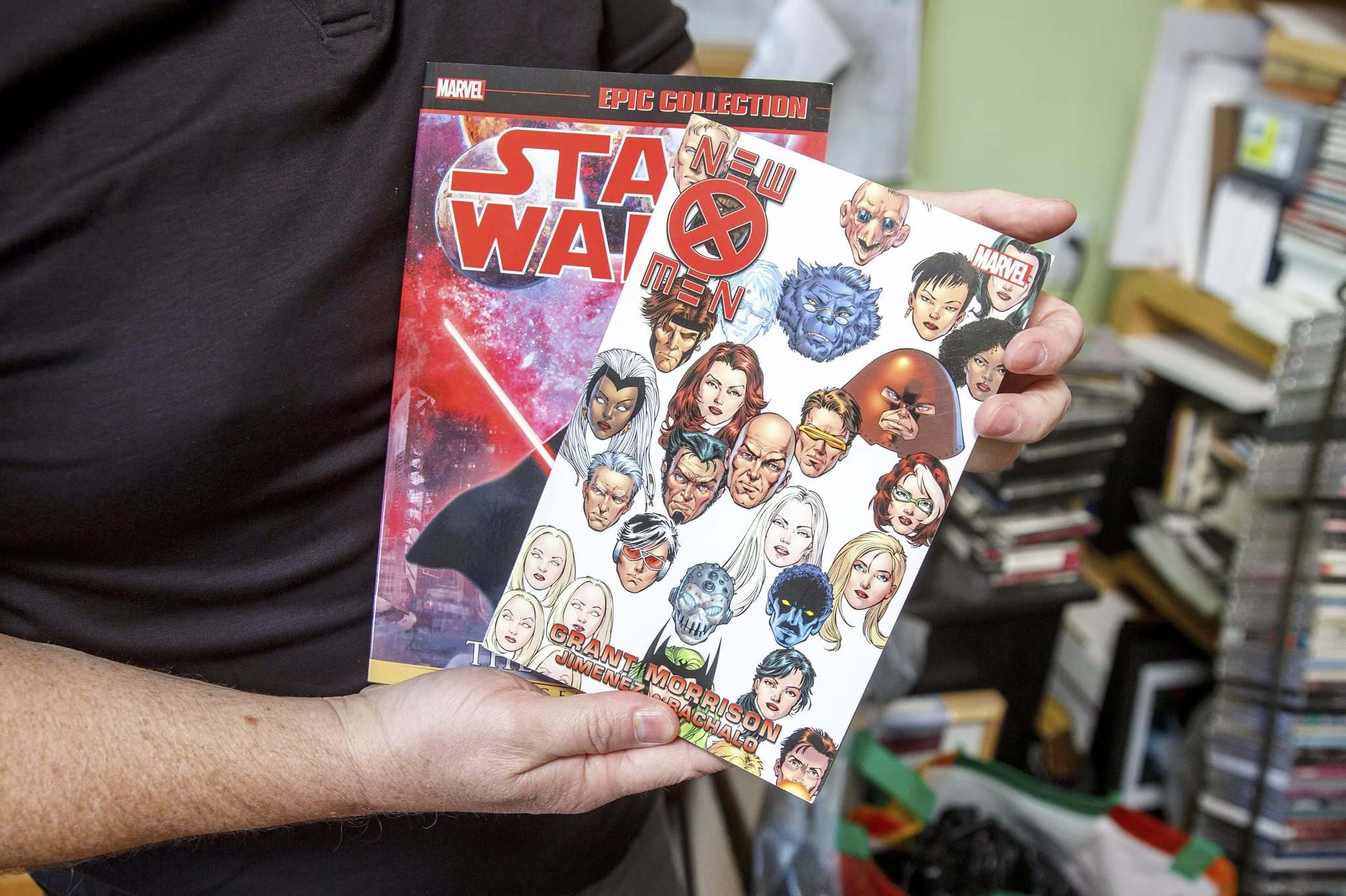 MIKE DEAL / WINNIPEG FREE PRESS</p><p>Chuckry works as a colourist on many major comic-book titles.</p></p>