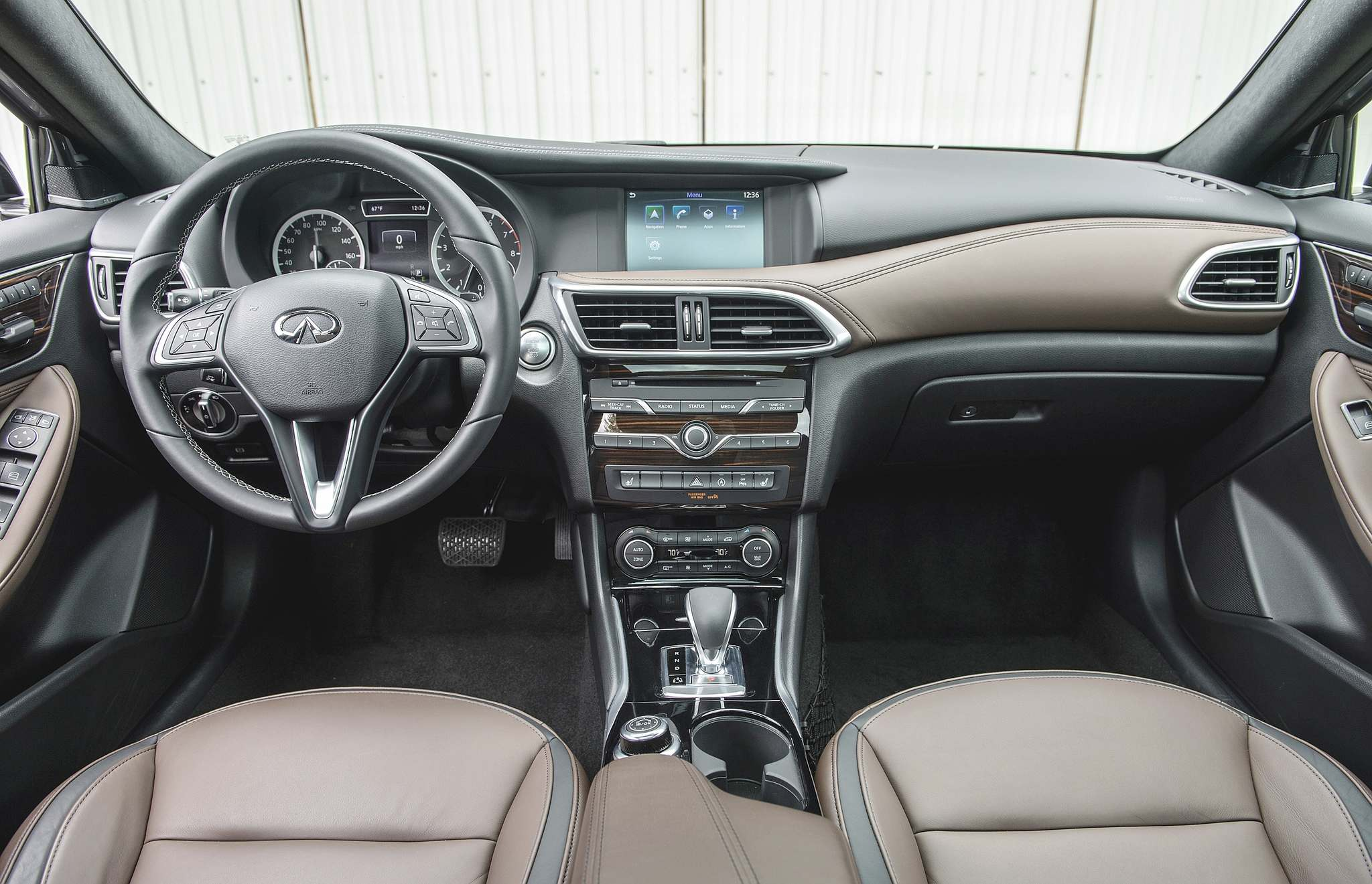 Clayton Seams / postmedia network inc.The 2017 Infiniti QX30 brings a level of refinement to the compact crossover market that was previosuly lacking.