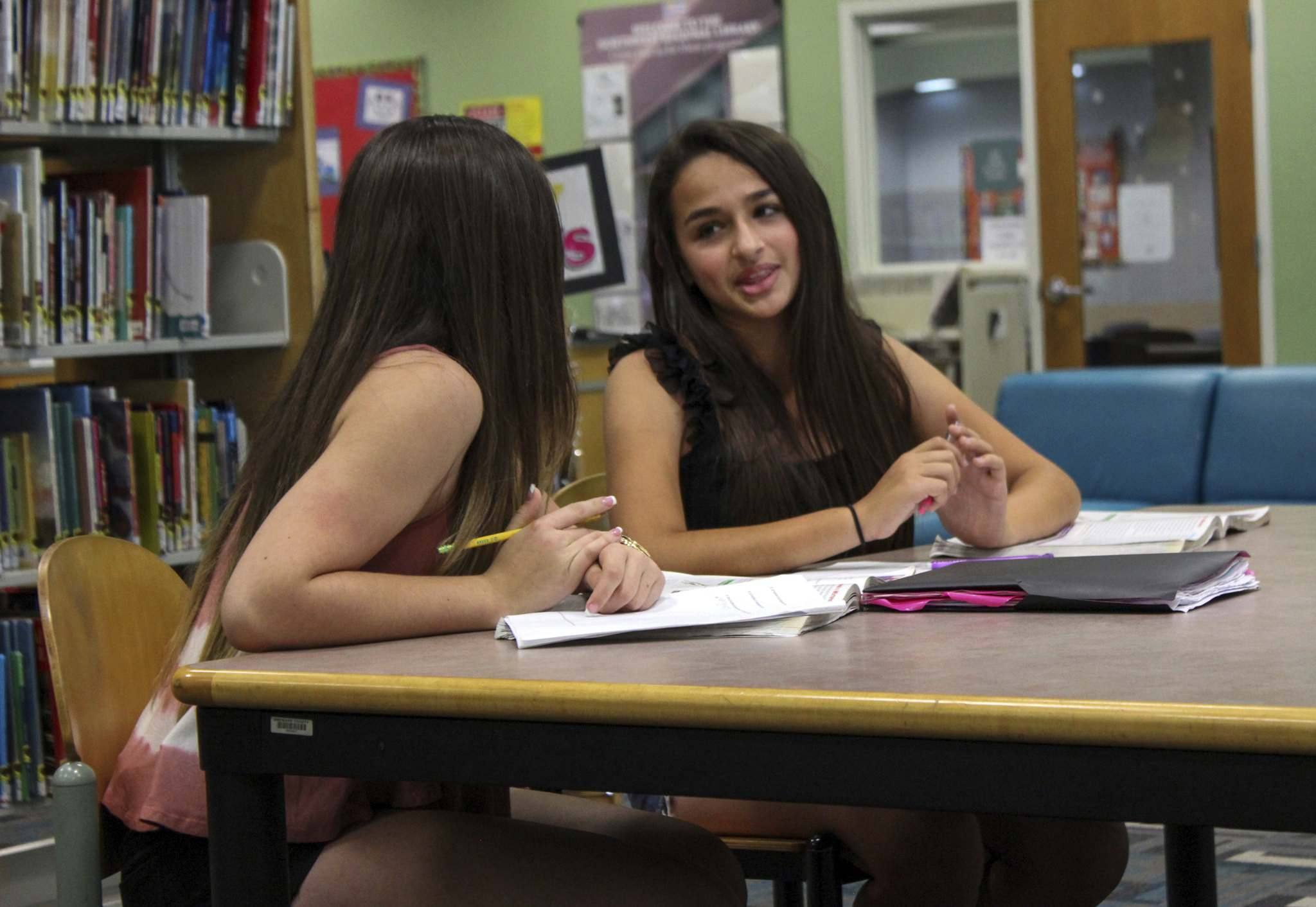 TLC</p><p>Transgender teen Jazz Jennings, right, and her friend Rachel in a scene from I Am Jazz.</p></p>