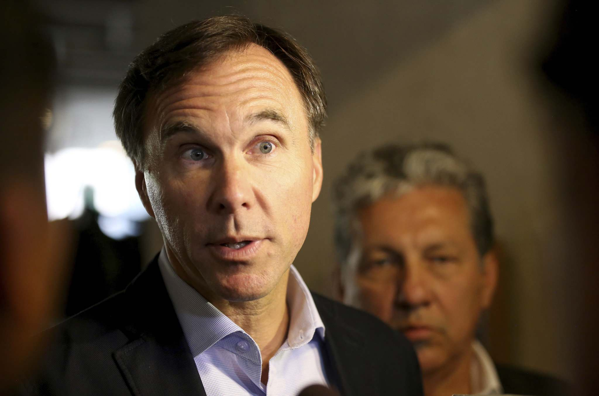 TREVOR HAGAN / WINNIPEG FREE PRESS FILES</p><p>Finance Minister Bill Morneau: cuts are not expected</p>