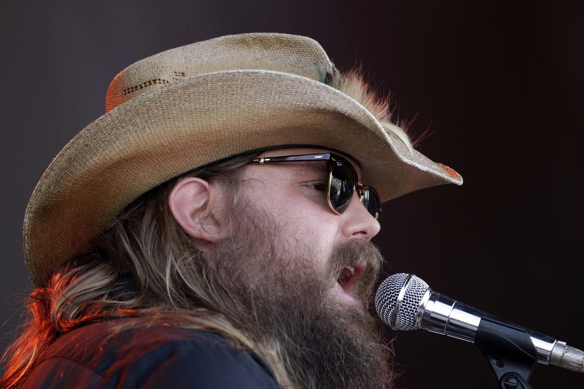 INVISION FILES</p><p>Chris Stapleton at the Bonnaroo Music and Arts Festival in Manchester, Tenn. in June.</p>