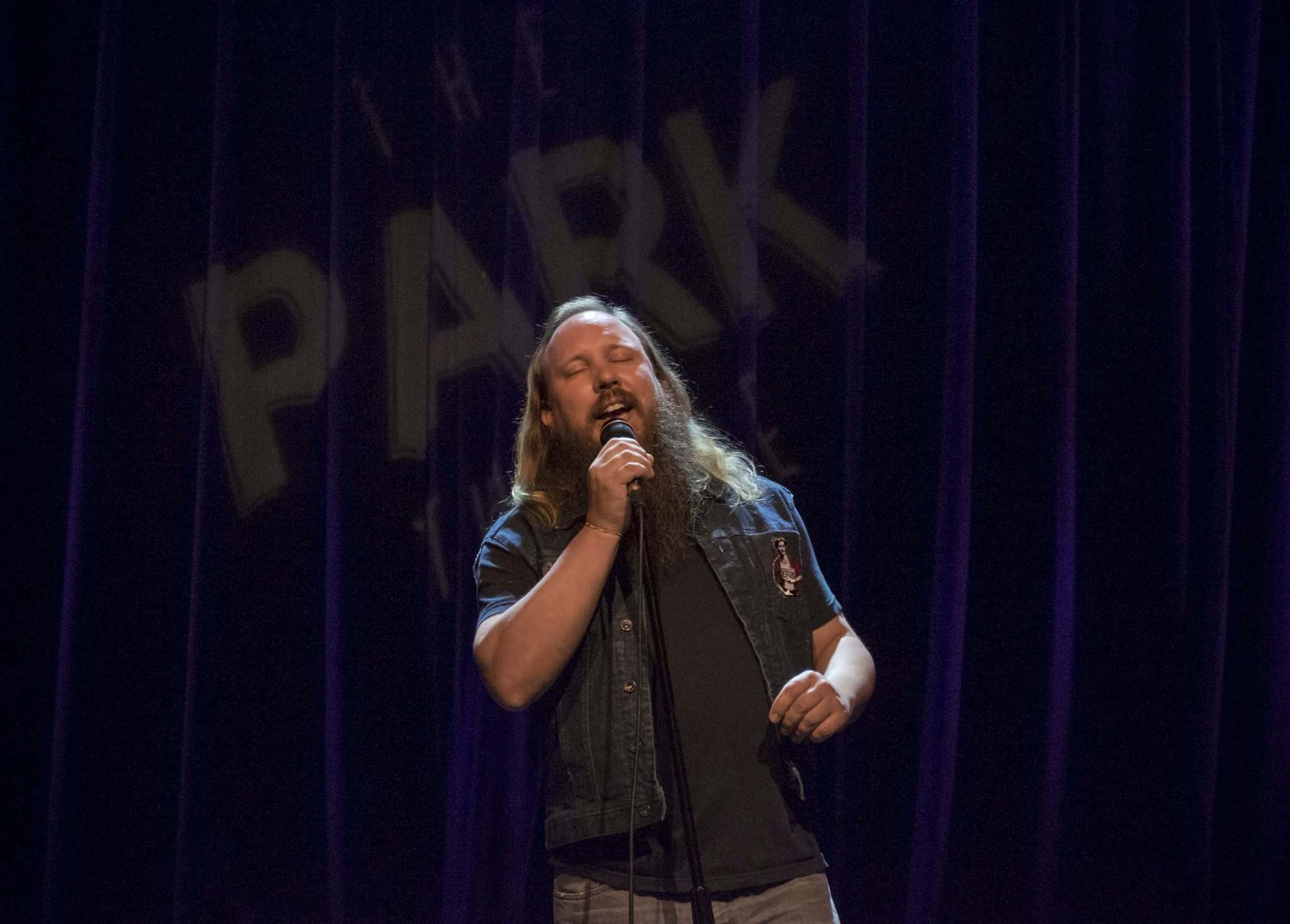ZACHARY PRONG / WINNIPEG FREE PRESS</p><p>Graham Clark performs at The Park Theatre for the 2016 Oddblock Block Party Comedy Festival on August 25, 2016. The festival runs until Sunday and will see over 50 performers at 29 shows in 6 different locations.</p></p></p>