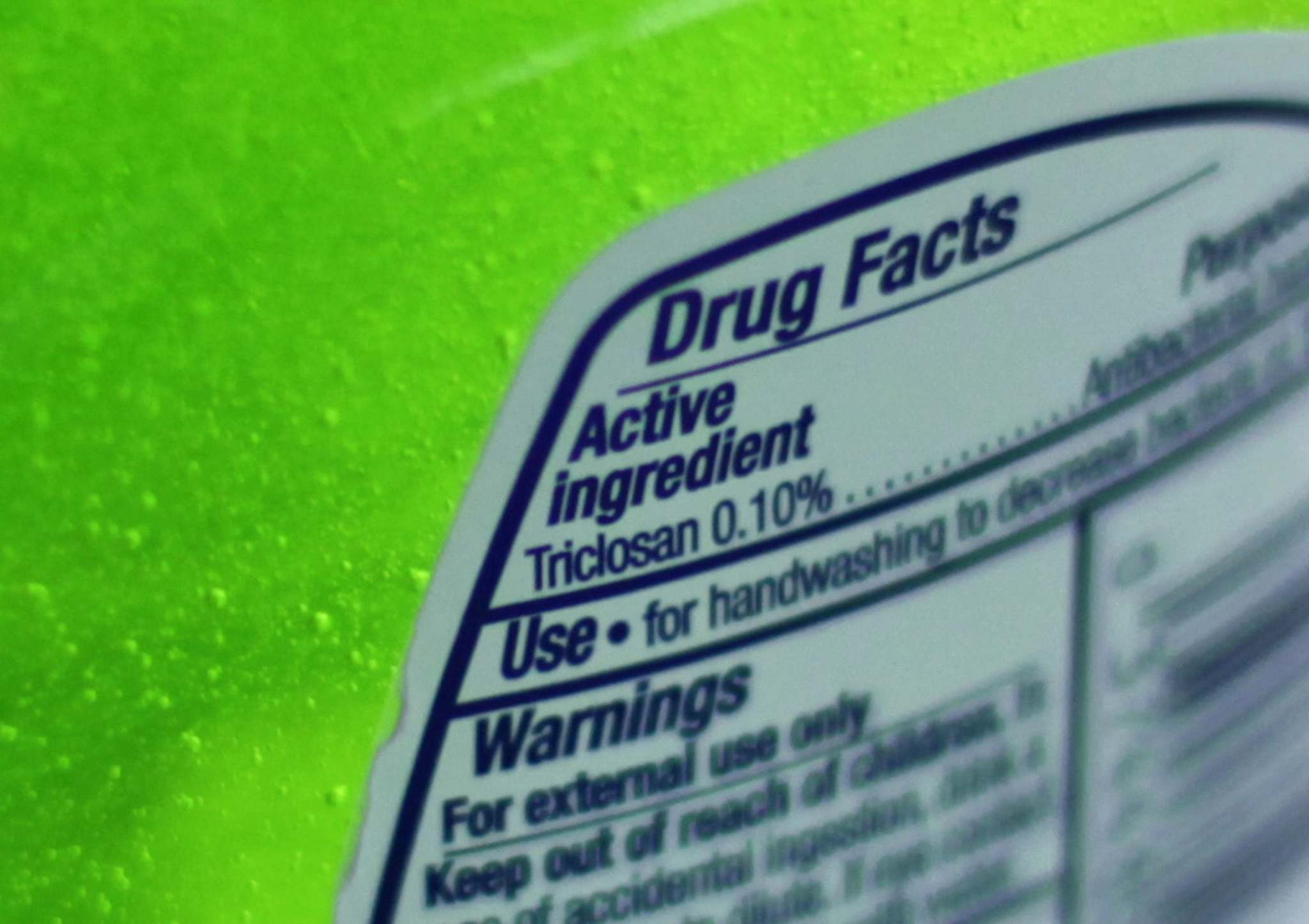 KIICHIRO SATO / THE ASSOCIATED PRESS FILES</p><p>The U.S. government has banned more than a dozen chemicals, including triclosan, long used in antibacterial soaps and washes.</p>