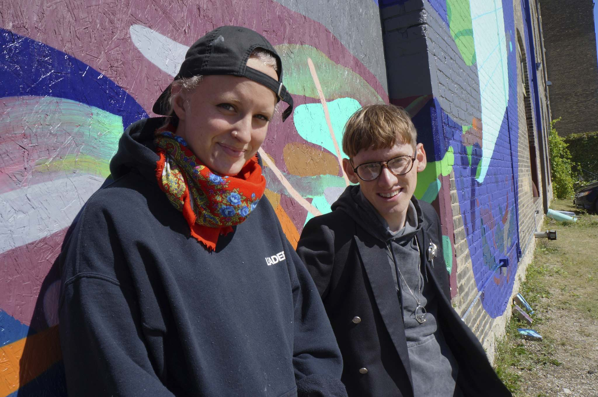 JESSICA BOTELHO-URBANSKI/WINNIPEG FREE PRESS</p><p>In the North End, Chloe Chafe, 24, and Andrew Eastman, 29, are proof side gigs can rise sky high.</p>