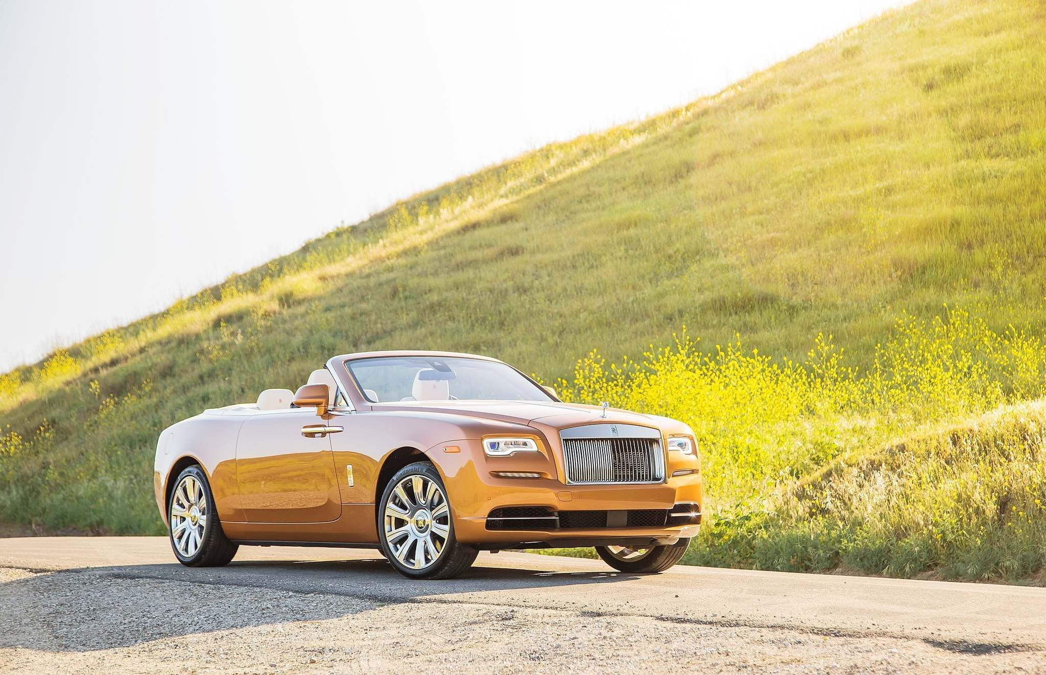 SUBMITTED PHOTO Rolls-Royce eschews the crease-lines many automakers use to add drama to their cars silhouettes in favour of a nearly organic shape, and a sporty-looking luxury car.