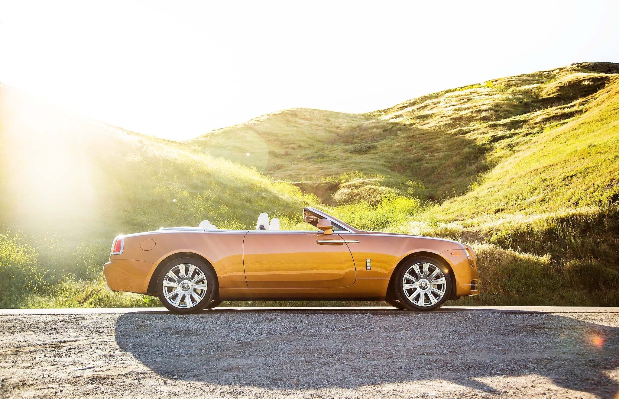 SUBMITTED PHOTO Rolls-Royce eschews the crease-lines many automakers use to add drama to their cars silhouettes and instead create a nearly organic shape, and a sporty-looking luxury car.