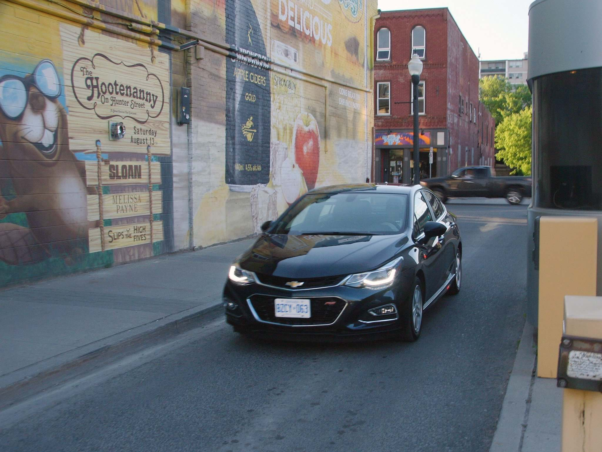 Photos by Leslie Wimbush / Postmedia Network Inc. Completely redesigned for 2016, the Cruze no longer looks destined for a Budget Rent a Car lot.
