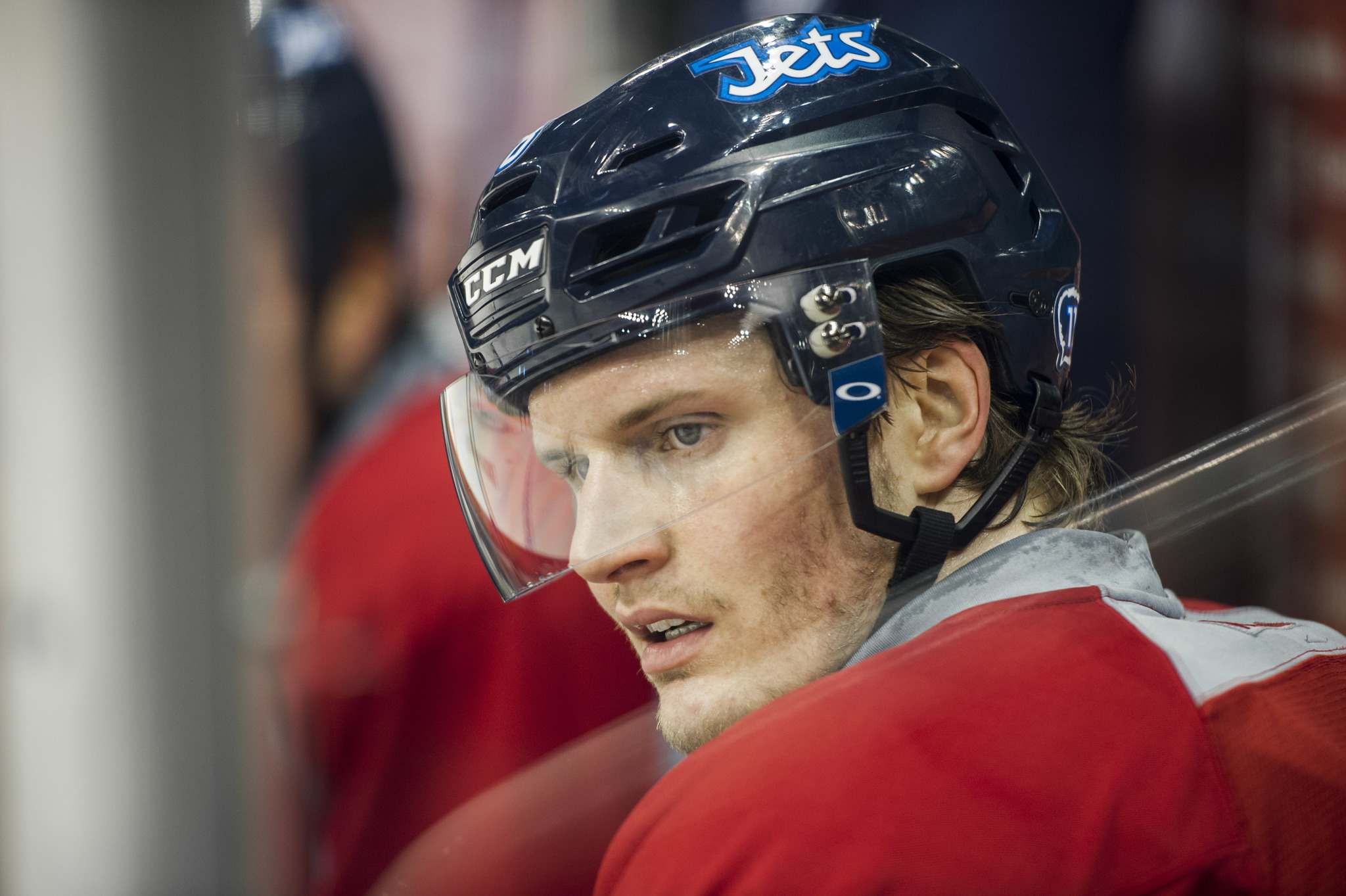 DAVID LIPNOWSKI / WINNIPEG FREE PRESS FILES</p><p>Jacob Trouba said he had asked for a trade back in May. The request hasn't been granted.</p>
