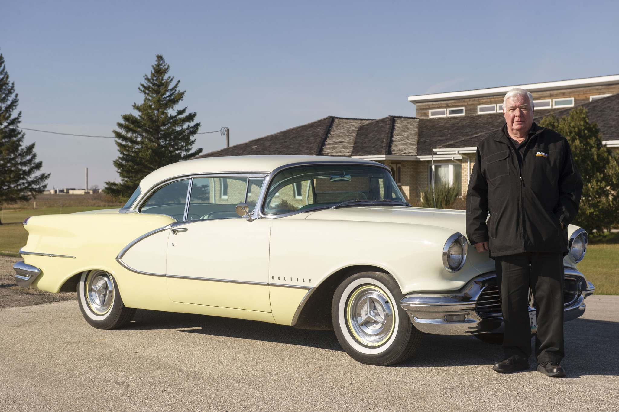 Winnipeg's Don Scharf grew up with Oldsmobiles and had been looking for a 98 Holiday for quite some time before he bought it in 2010.