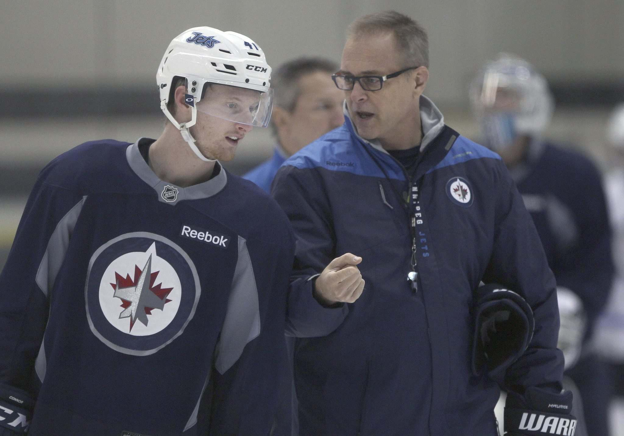 Jets sign coach Paul Maurice, GM Kevin Cheveldayoff to contract extensions