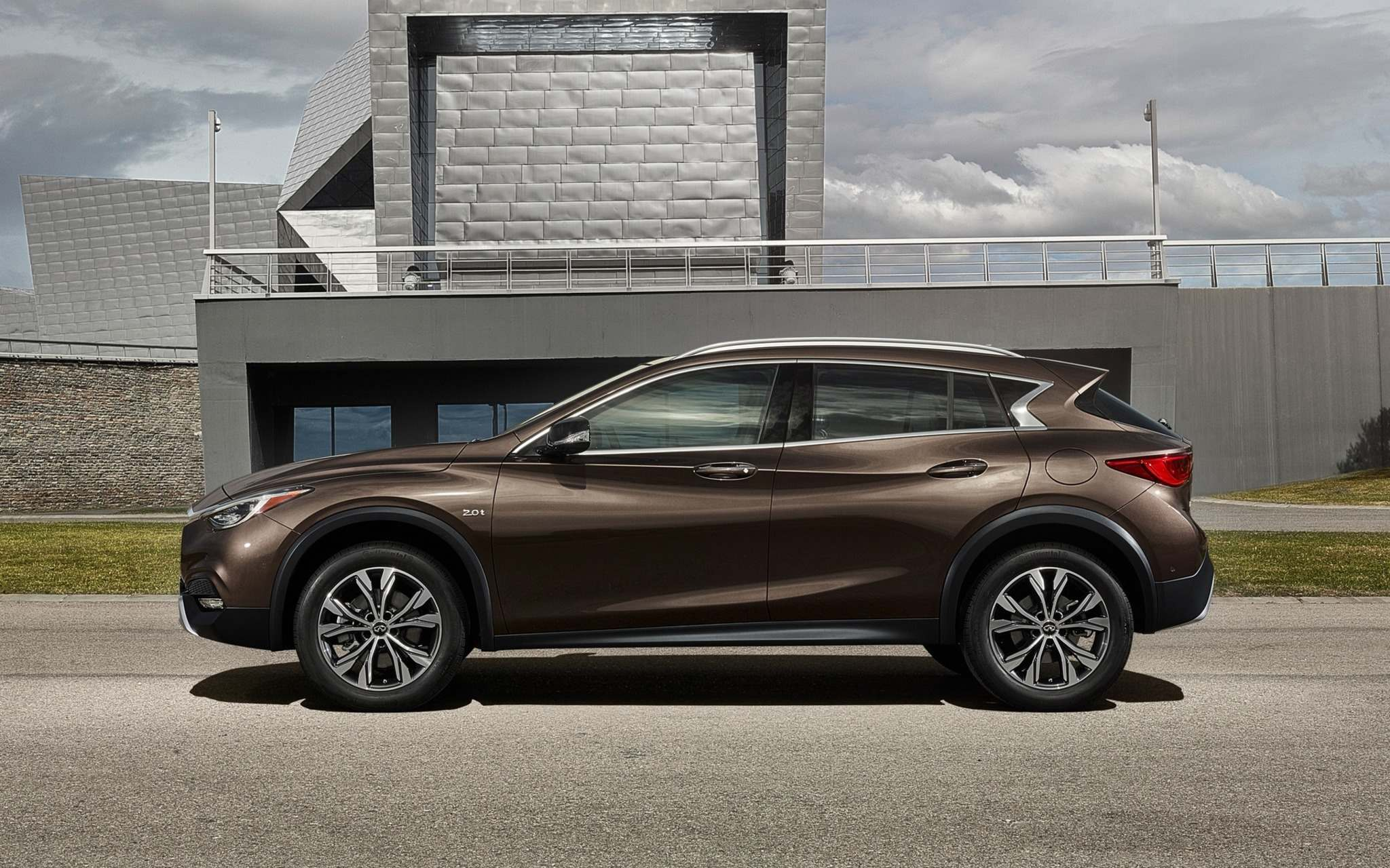 INFINITIThe new QX30 has arrived on showroom floors in Manitoba. It is Infiniti Canada's first crossover SUV and is powered by a 2.0-litre turbocharged four-cylinder engine that puts out 208 horsepower and 258 pound-feet of torque.