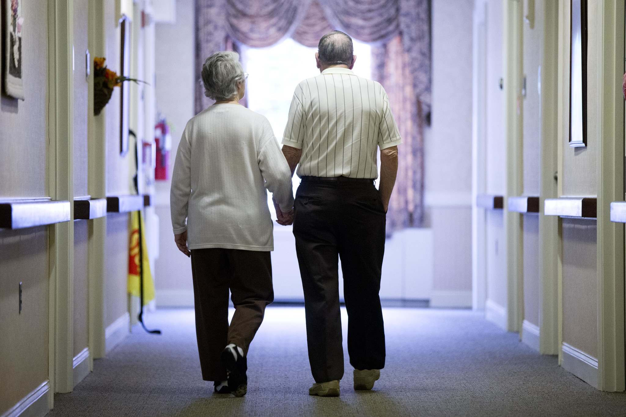 MATT ROURKE / THE ASSOCIATED PRESS FILES</p><p>Seniors' access to home care or assisted living arrangements may be limited by their ability to pay.</p>