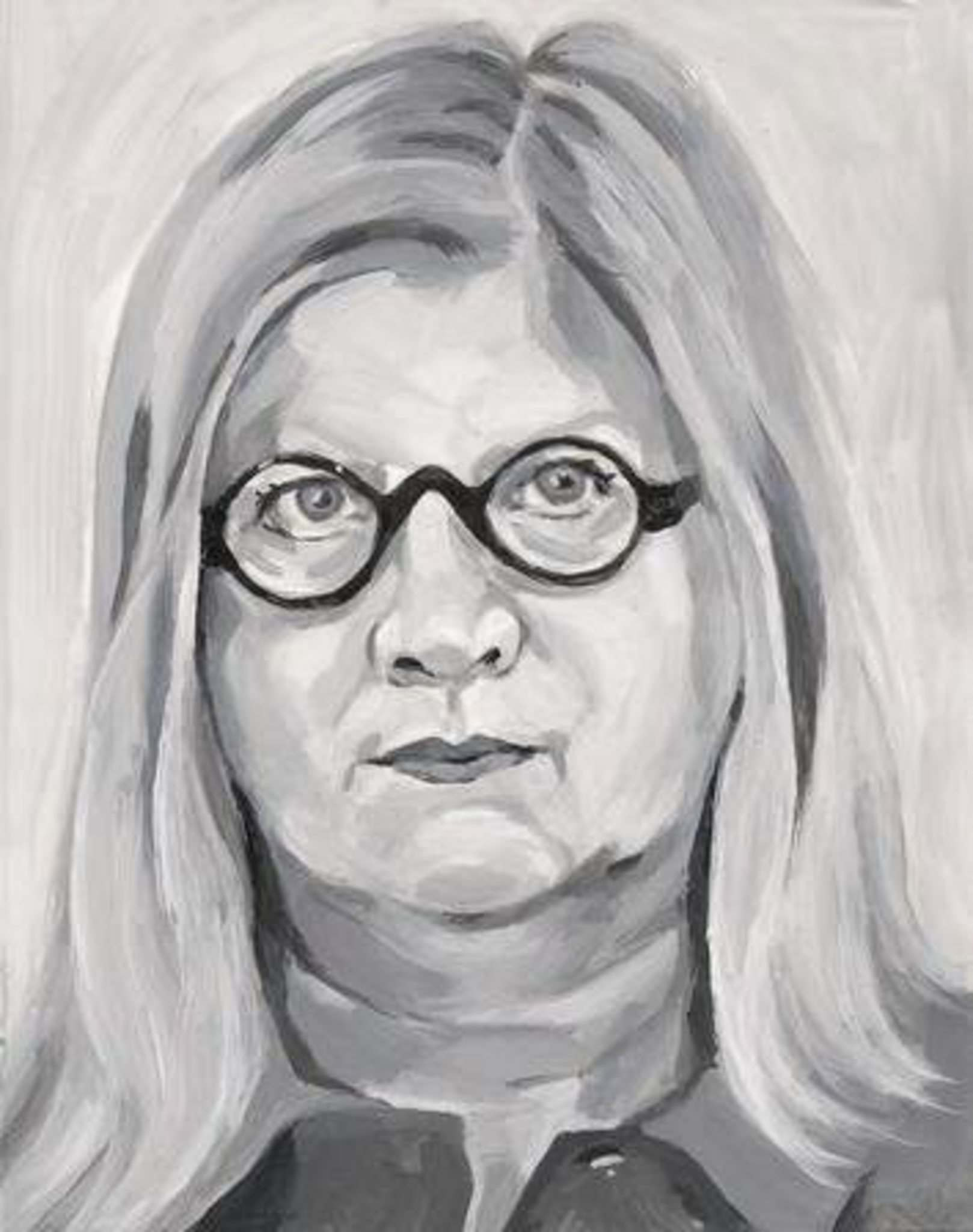 GUREVICH FINE ART</p><p>Carole Freeman portrait of Winnipeg artist Wanda Koop. Part of Something About Winnipeg at Gurevich Fine Art.</p>