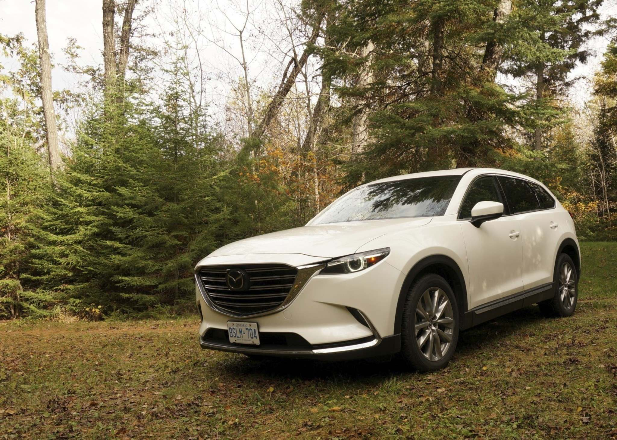 HANEY LOUKA / WINNIPEG FREE PRESSMazda's CX-9 proved to be a front-runner for family hauling duties, providing the satisfyingly firm ride and responsive steering we've come to expect from Mazda.