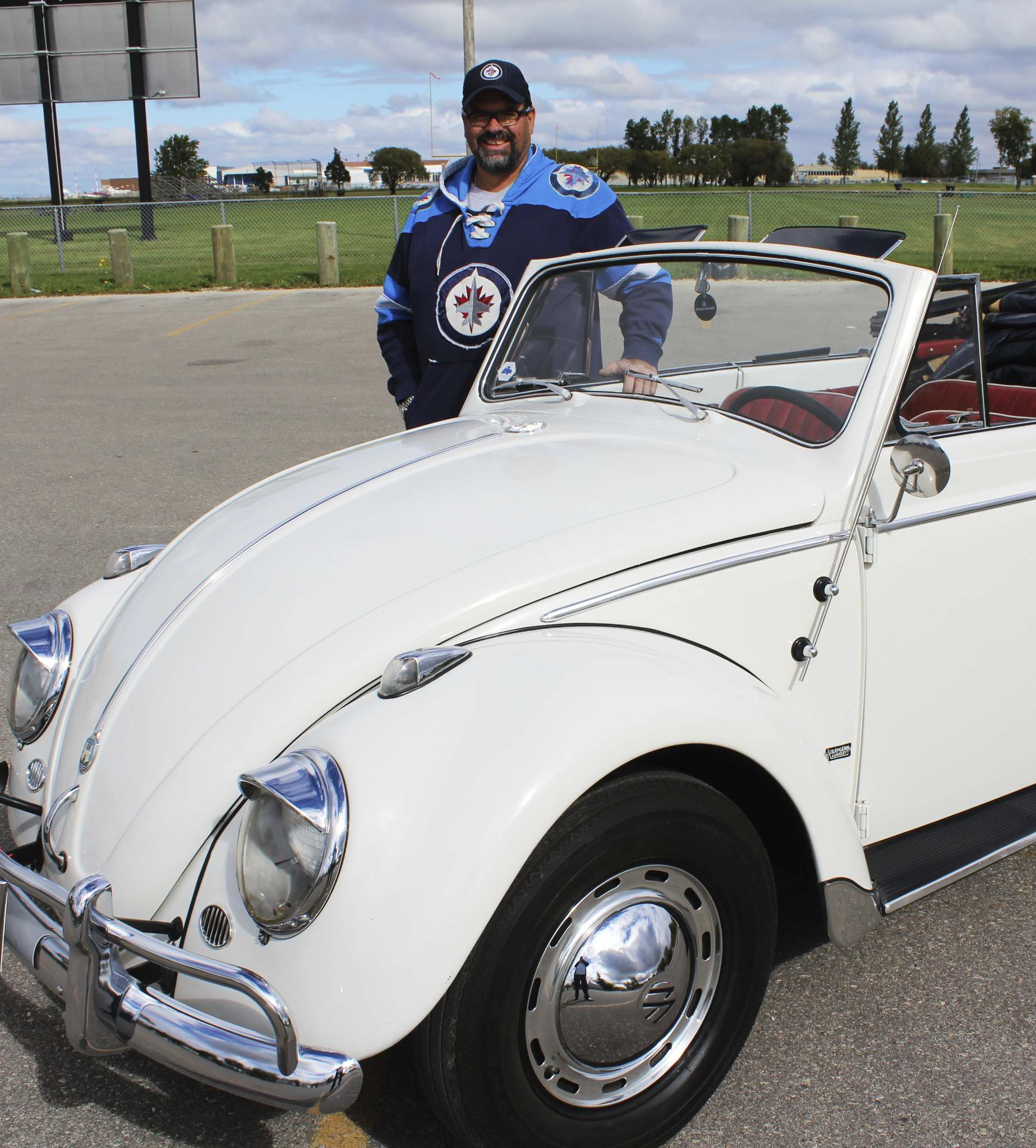 Doug Ennis has thought about selling his classic ride in the past, but just can't because of the sentimental value.