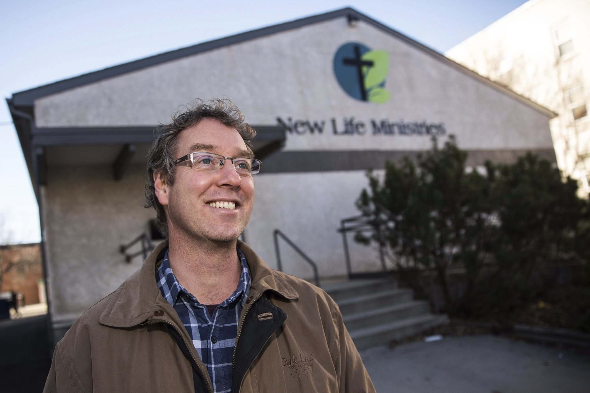 MIKE DEAL / WINNIPEG FREE PRESS</p><p>Following in Lehotsky&#39;s shoes now is Curtis Halbesma, current pastor of New Life Ministries. He started working there part time in 2011 and became full-time pastor in 2013.</p>