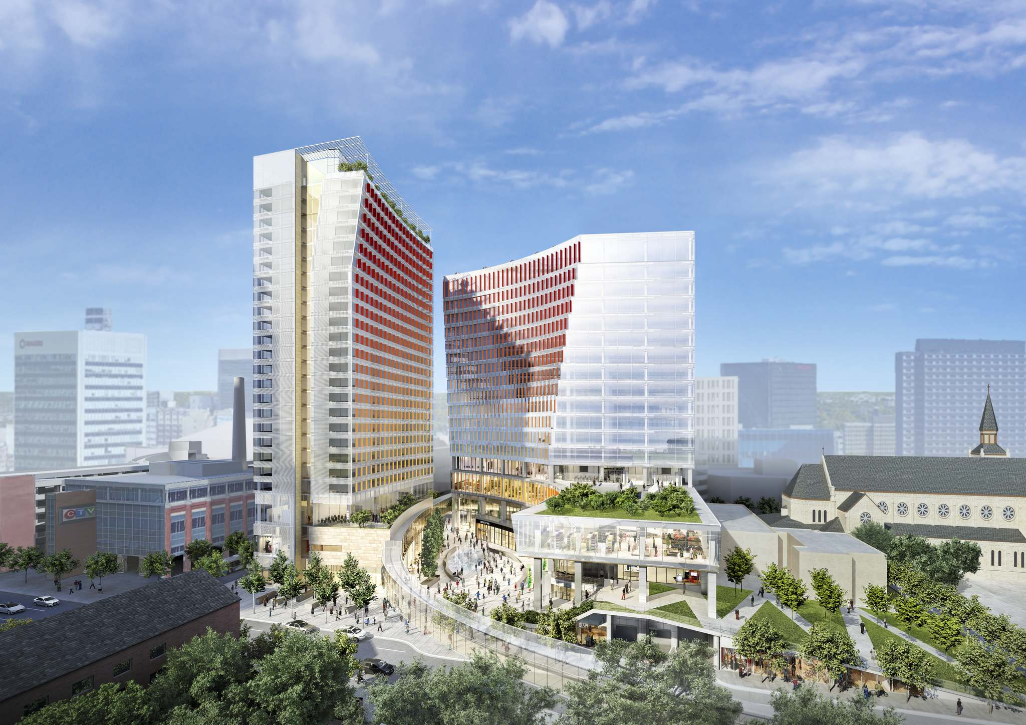 SUPPLIED</p><p>True North Square will include a 50,000-square-foot Liquor Mart, which would be the largest liquor store in Canada.</p>