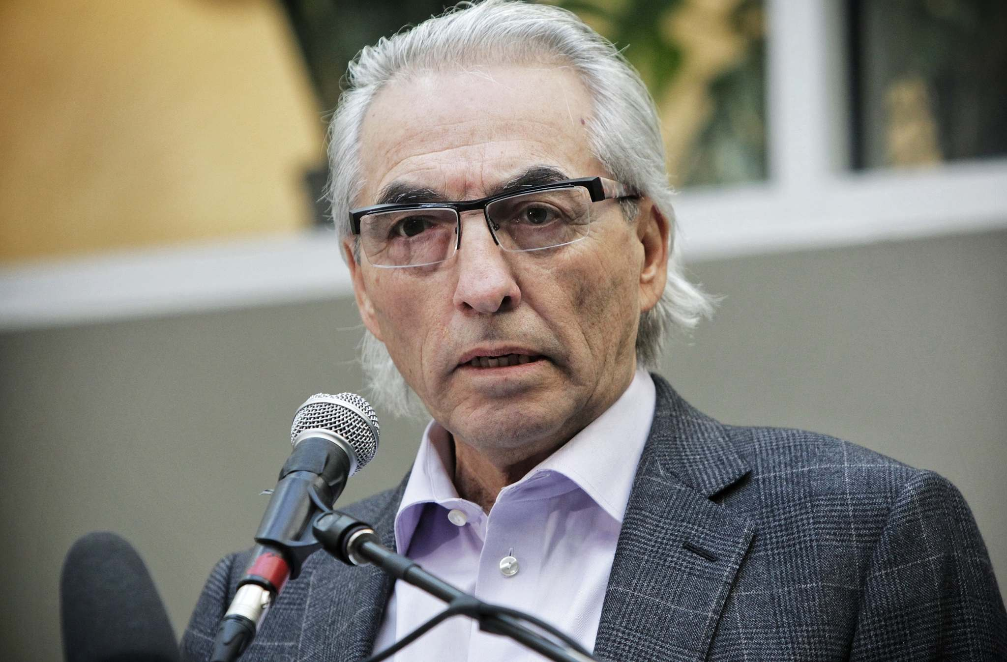 MIKE DEAL ./ WINNIPEG FREE PRESS FILES</p><p>Former National Chief Phil Fontaine </p>