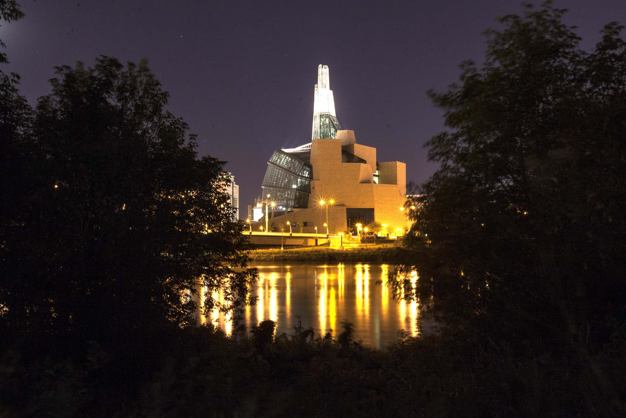 RUTH BONNEVILLE / WINNIPEG FREE PRESS FILES</p><p>The Canadian Museum For Human Rights</p>