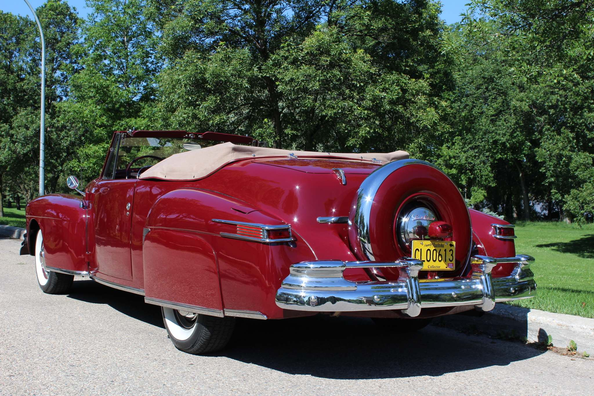 Photos by Larry D'Argis / Winnipeg Free PressAt 4,315 pounds, with an overall 18 feet, this 1946 Continental is a substantial vehicle, and only one of 201 built.