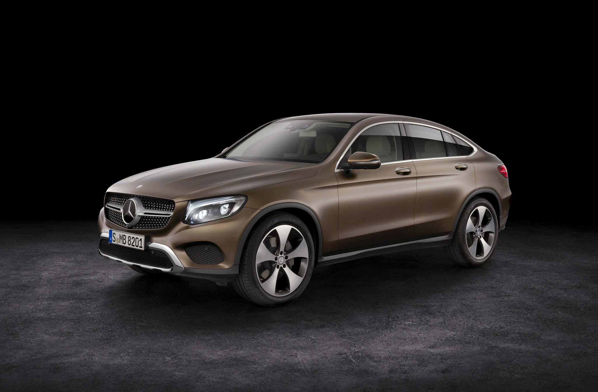 MERCEDES-BENZ The new GLC coupe is ideal for drivers who want a touch of sportiness.