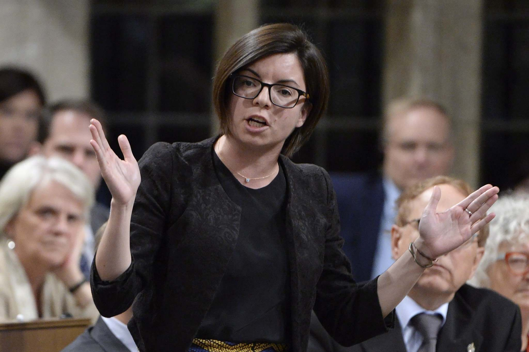ADRIAN WYLD . THE CANADIAN PRESS FILES</p><p>NDP MP Niki Ashton hosted the delegation.</p>