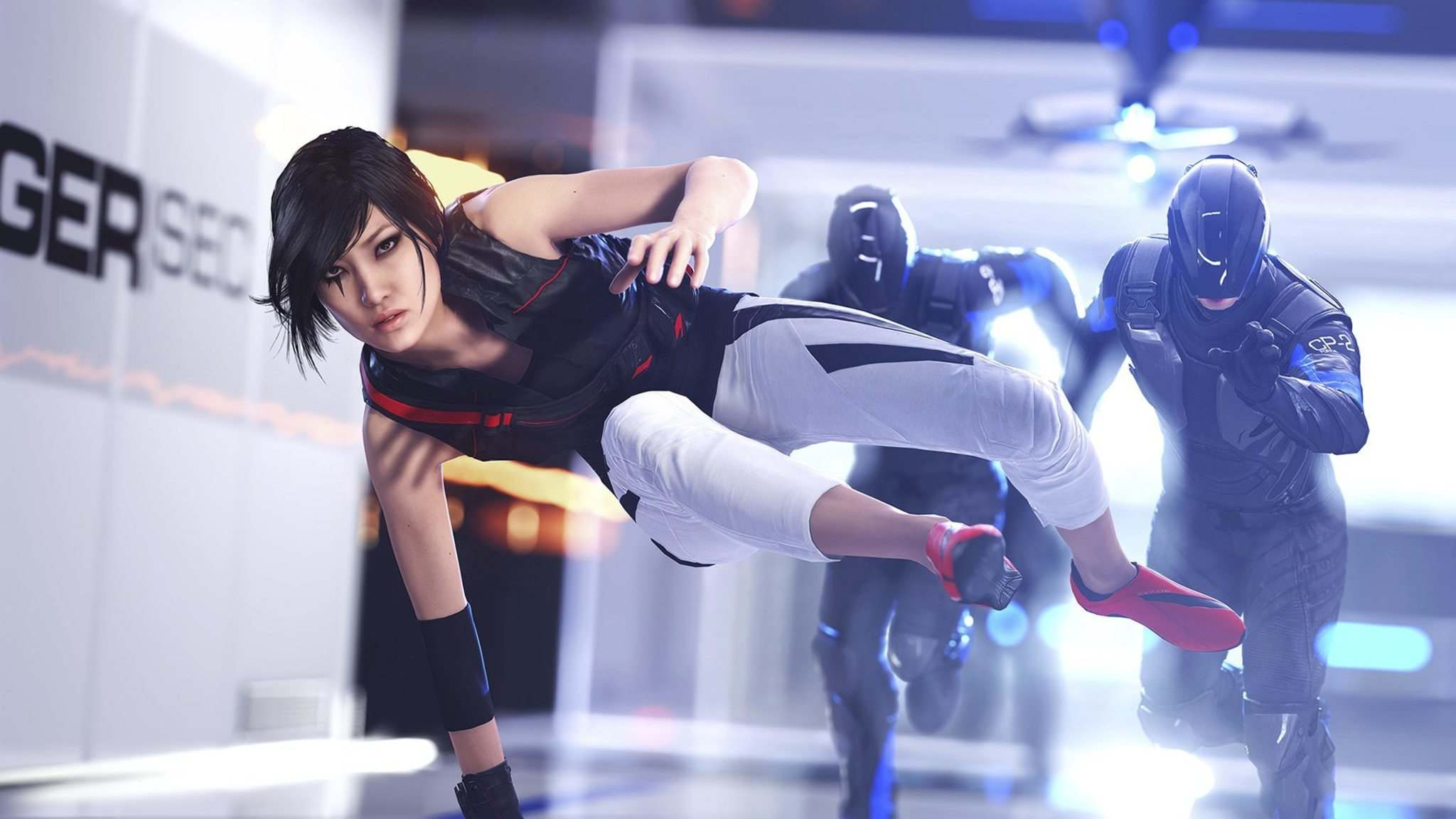 Supplied</p><p>In Mirror&rsquo;s Edge Catalyst, protagonist Faith uses her speed to slam into enemies.</p>