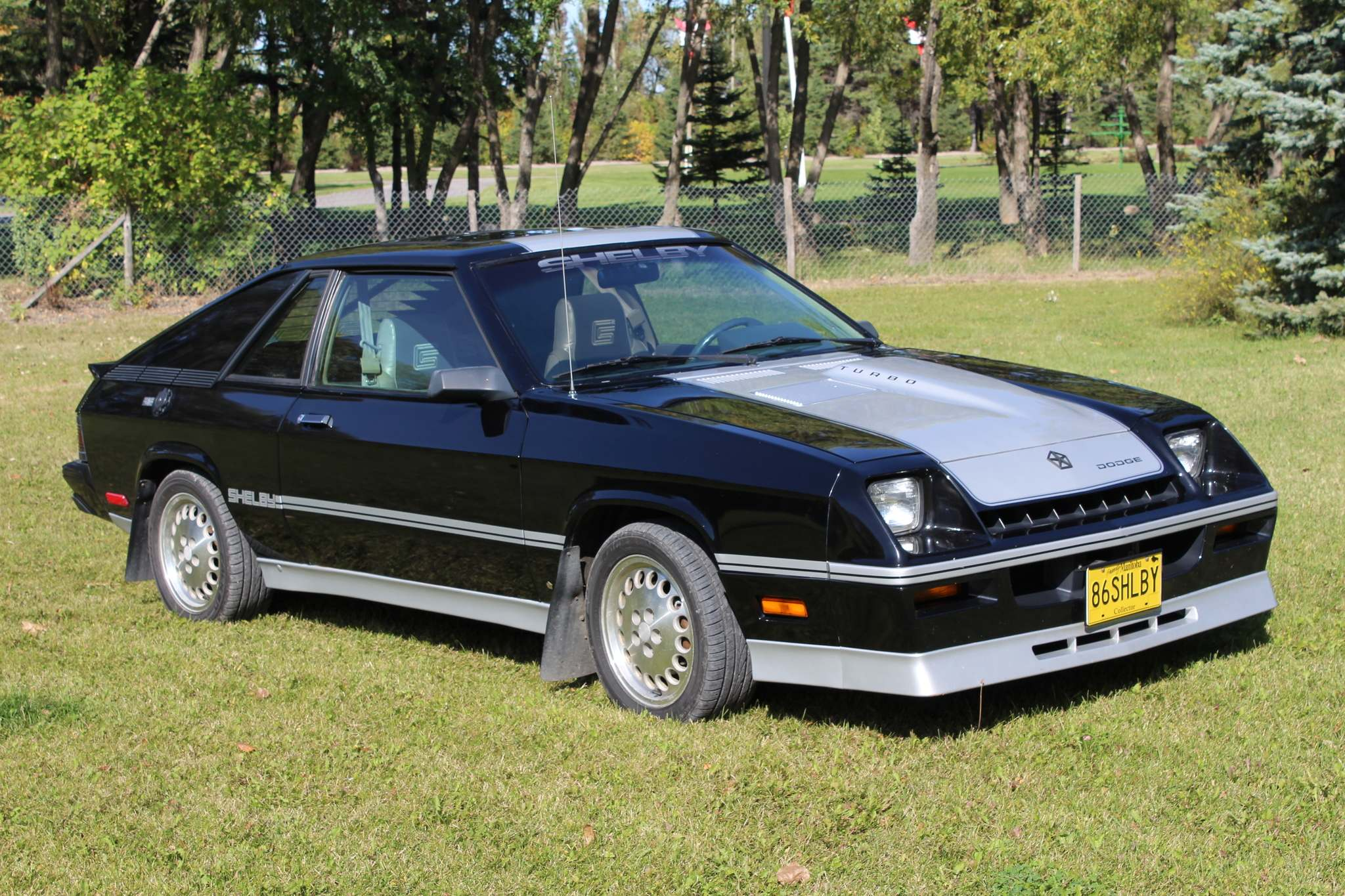 Larry D'Argis / Winnipeg Free PressThis 1986 Shelby Charger, now owned by James Blatz or Winnipeg, listed for $9,361 before optional extras when it was first purchased in Regina.
