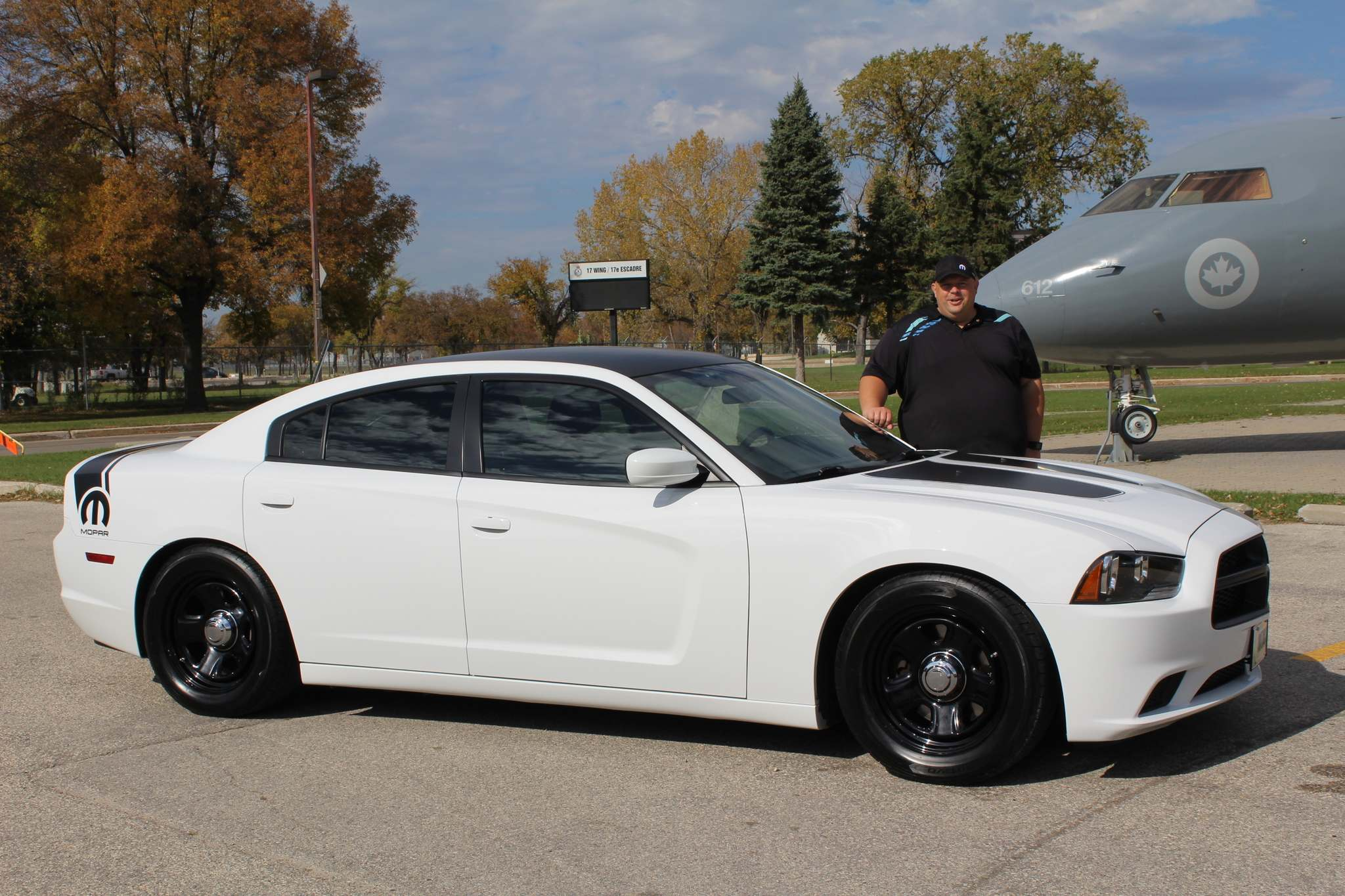 SUPPLIEDWinnipeg's Vince Proteau bought this 2013 Dodge Charger in 2014 when it only had 100 kilometres on it. He took it on memorable trips to British Columbia and Texas.