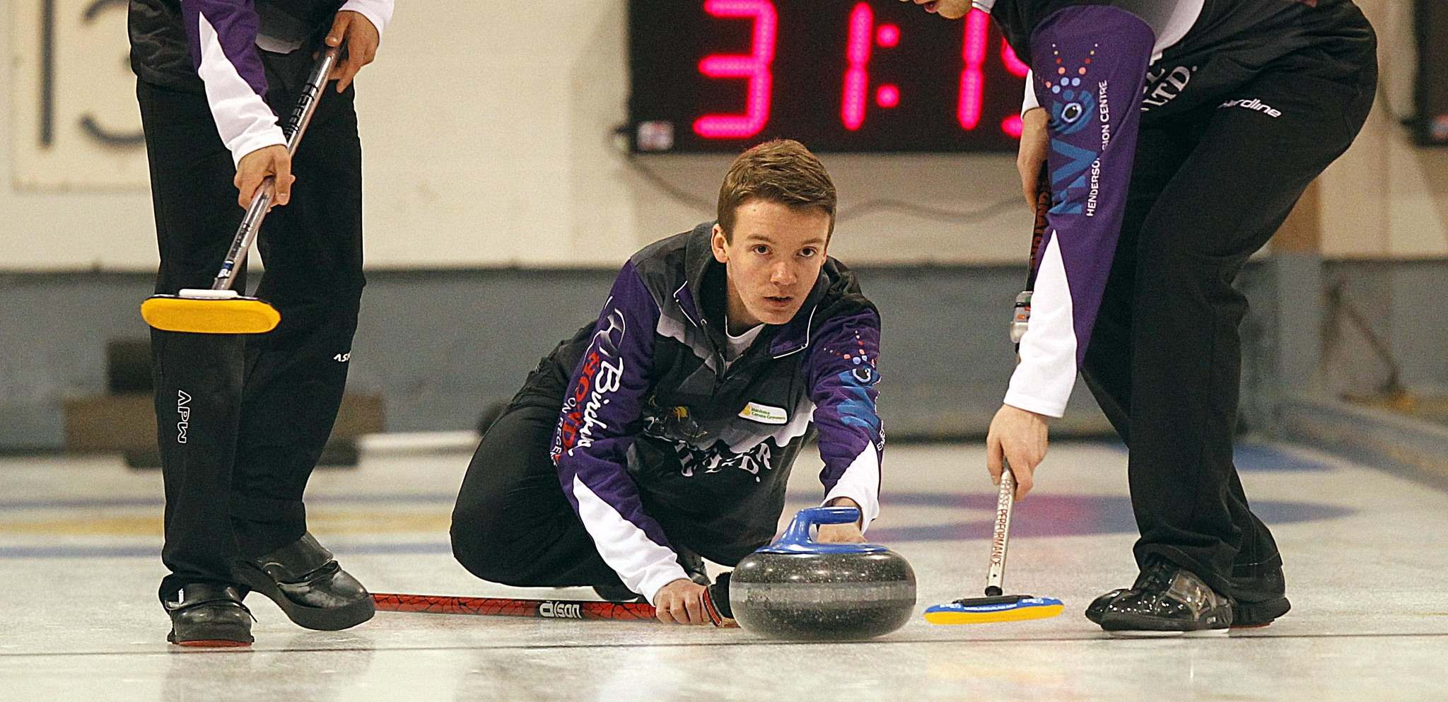 PHIL HOSSACK / WINNIPEG FREE PRESS FILES</p><p>Despited being a perfect 6-0 in round robin play, the Manitoba rink skipped by J.T. Ryan, above, had a disappointing finish Friday night when they were eliminated from the 2017 Canadian Junior Curling Championships in Esquimalt, B.C.</p>