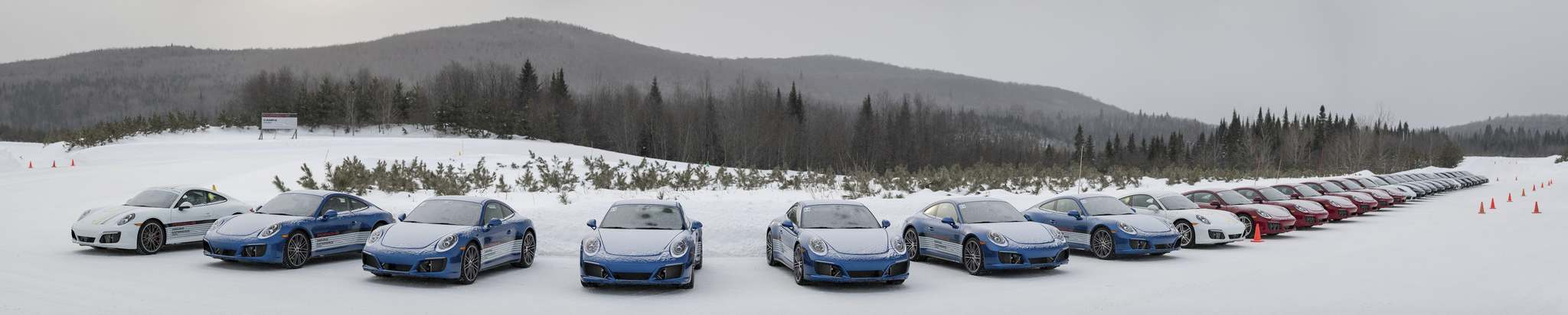 SuppliedDriving on ice is fun and educational at Camp4 in Quebec.