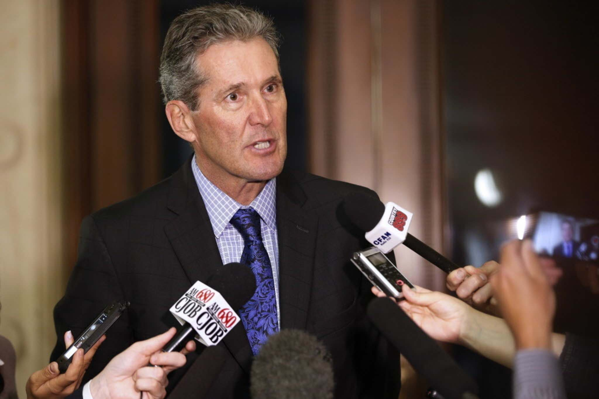 """John Woods / Winnipeg Free Press Files</p><p>For Premier Brian Pallister, austerity has gone from """"unlikely"""" to a """"must"""" as he prepares his second provincial budget.</p></p>"""
