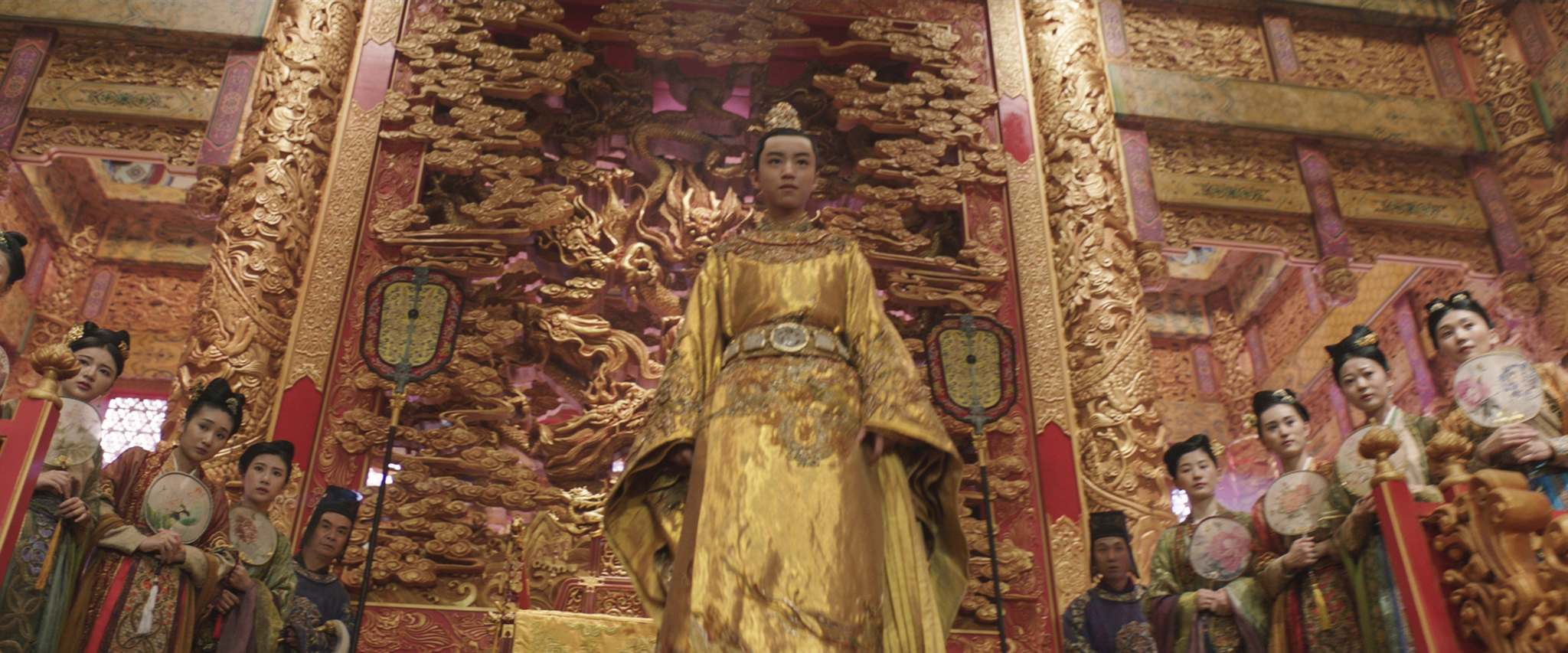UNIVERSAL PICTURES</p> <p>Junkai Wang as The Emperor.</p> <p>&#8220;> </a><figcaption> <p>UNIVERSAL PICTURES</p> <p>Junkai Wang as The Emperor.</p> </figcaption></figure> <p>In a violent, gorgeously preposterous action sequence, we watch through William and Tovar's amazed eyes as the soldiers prepare to battle the taotei, basically insatiable and extremely ugly dragons that periodically try to swarm the Wall, eating everything in their way.</p> <p>William, who starts out as a not-my-fight loner, is eventually won over by the stern — and very beautiful — example of Commander Lin (<em>Police Story 2013's</em> Jing Tian).</p> <p>There have been charges of whitewashing: Why should the Chinese need Matt Damon to defend the Great Wall, after all? And Damon himself seems a little abashed. No matter what he's doing, the Bourne star tends to retain a certain all-American &#8220;captain of the lacrosse team&#8221; vibe, and he struggles to play a period character in a large-scale saga in which people say things like &#8220;Die well, brother.&#8221;</p> <figure class=